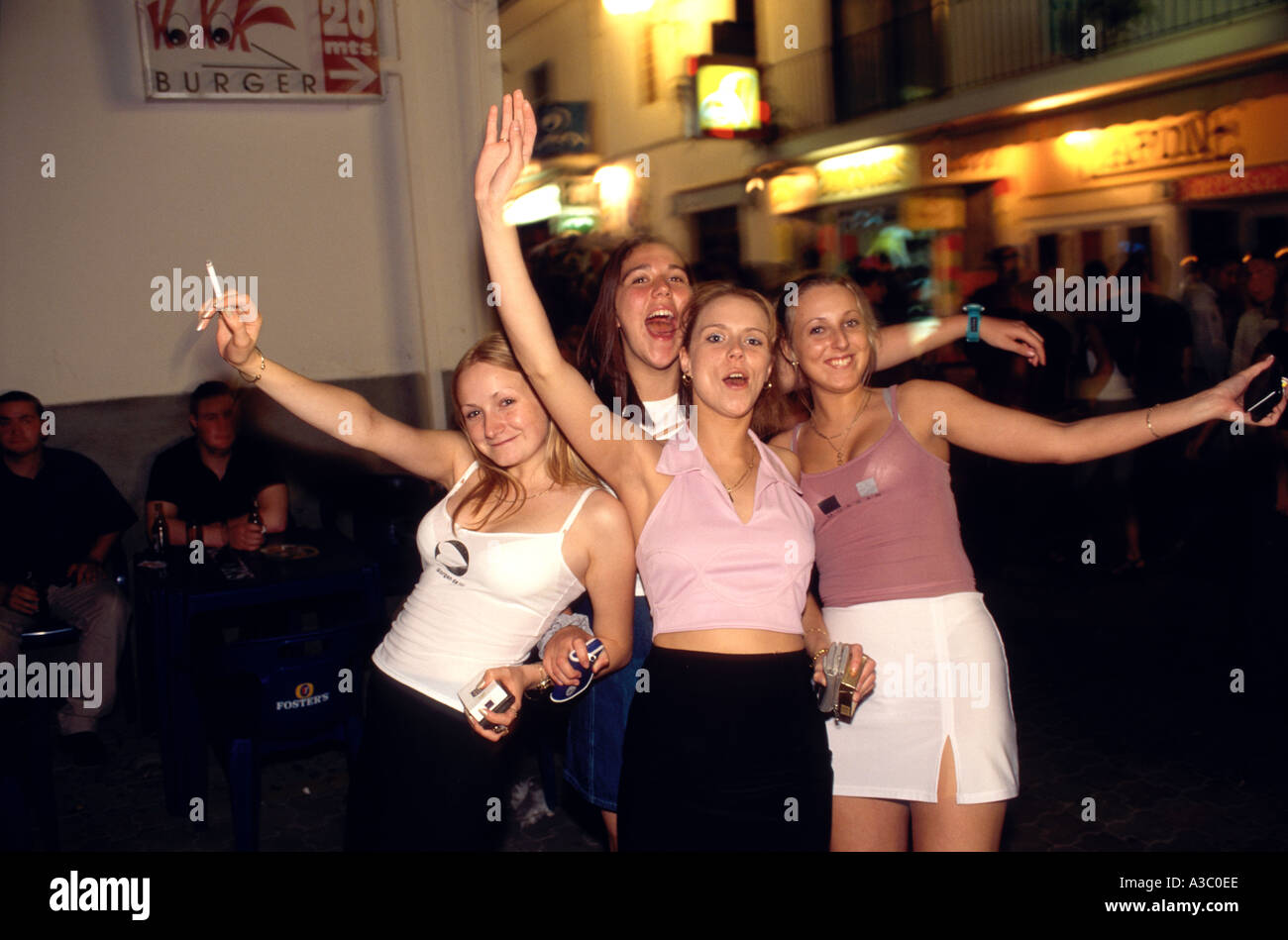 girls teen night out