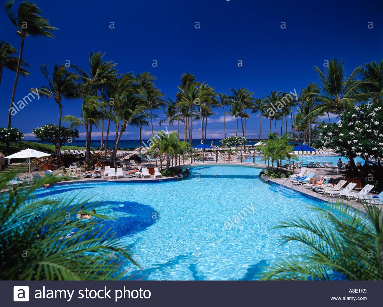 Hilton waikoloa village swimming pool hawaii island hawaii - Hilton swimming pool ...