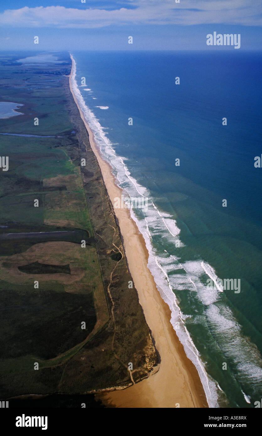 Ninety Mile Beach Near Seaspray Gippsland Victoria