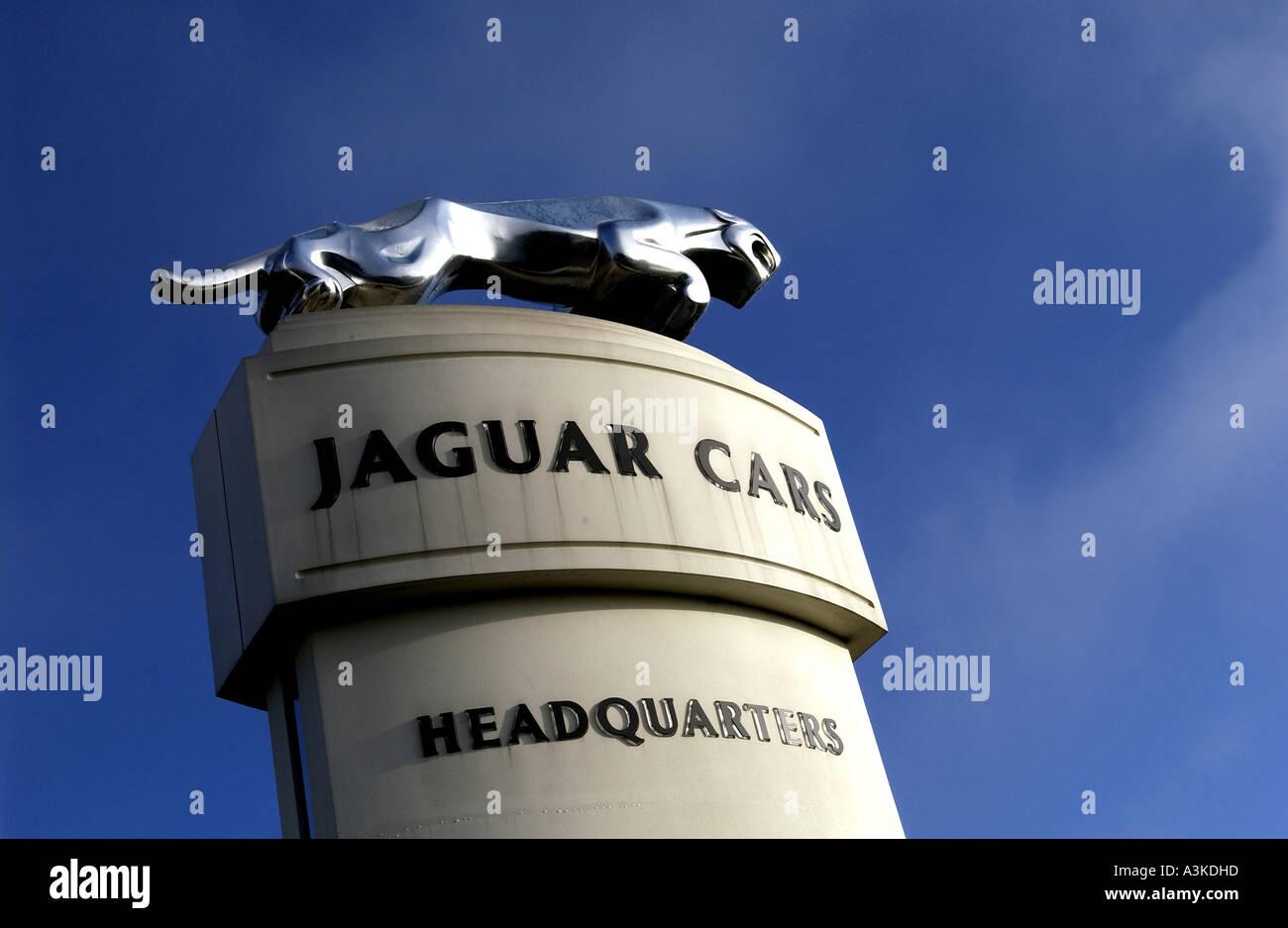 The jaguar car symbol the leaper on a plinth above the browns lane the jaguar car symbol the leaper on a plinth above the browns lane plant in coventry warwickshire buycottarizona