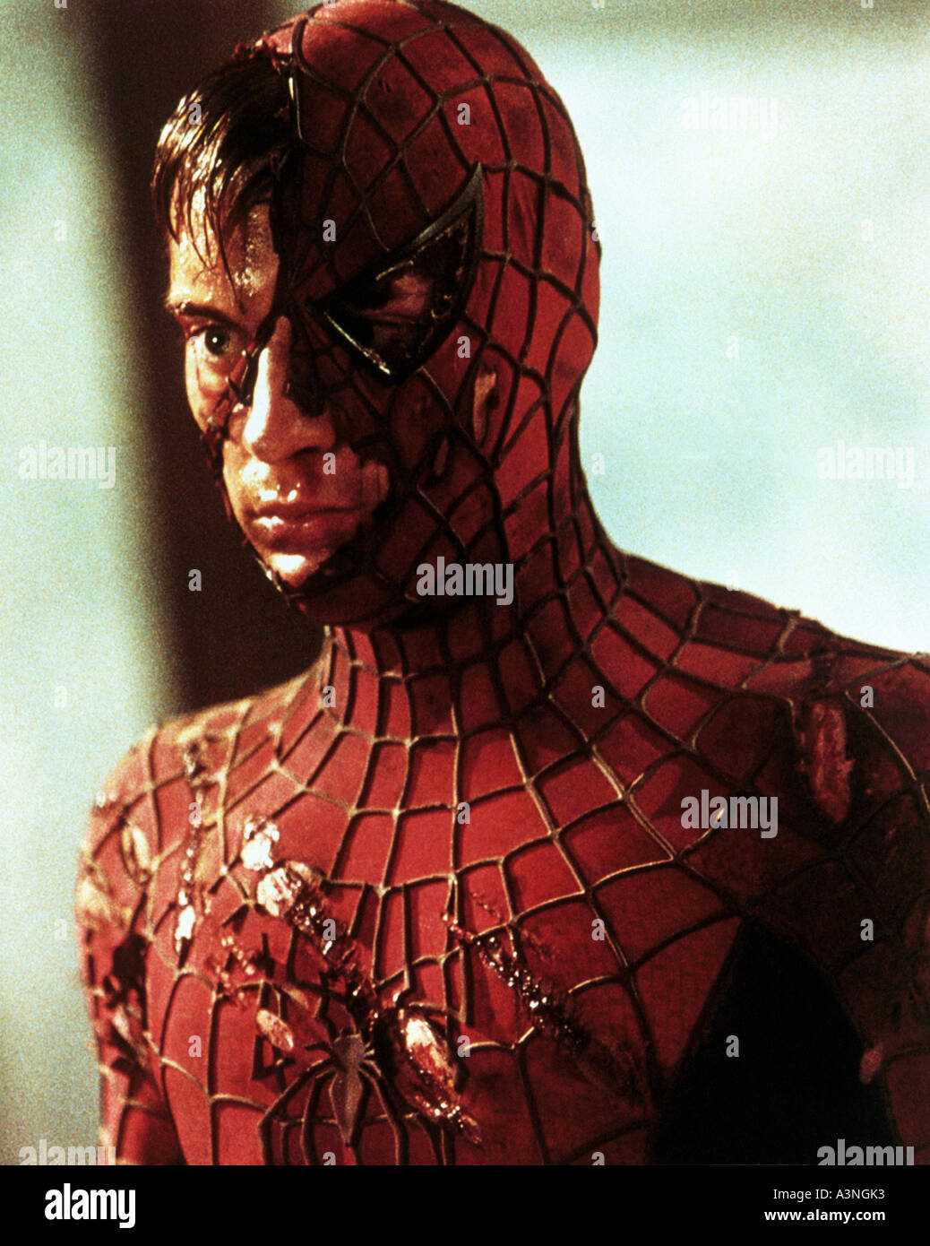 spiderman tobey maguire in the title role of the 2002
