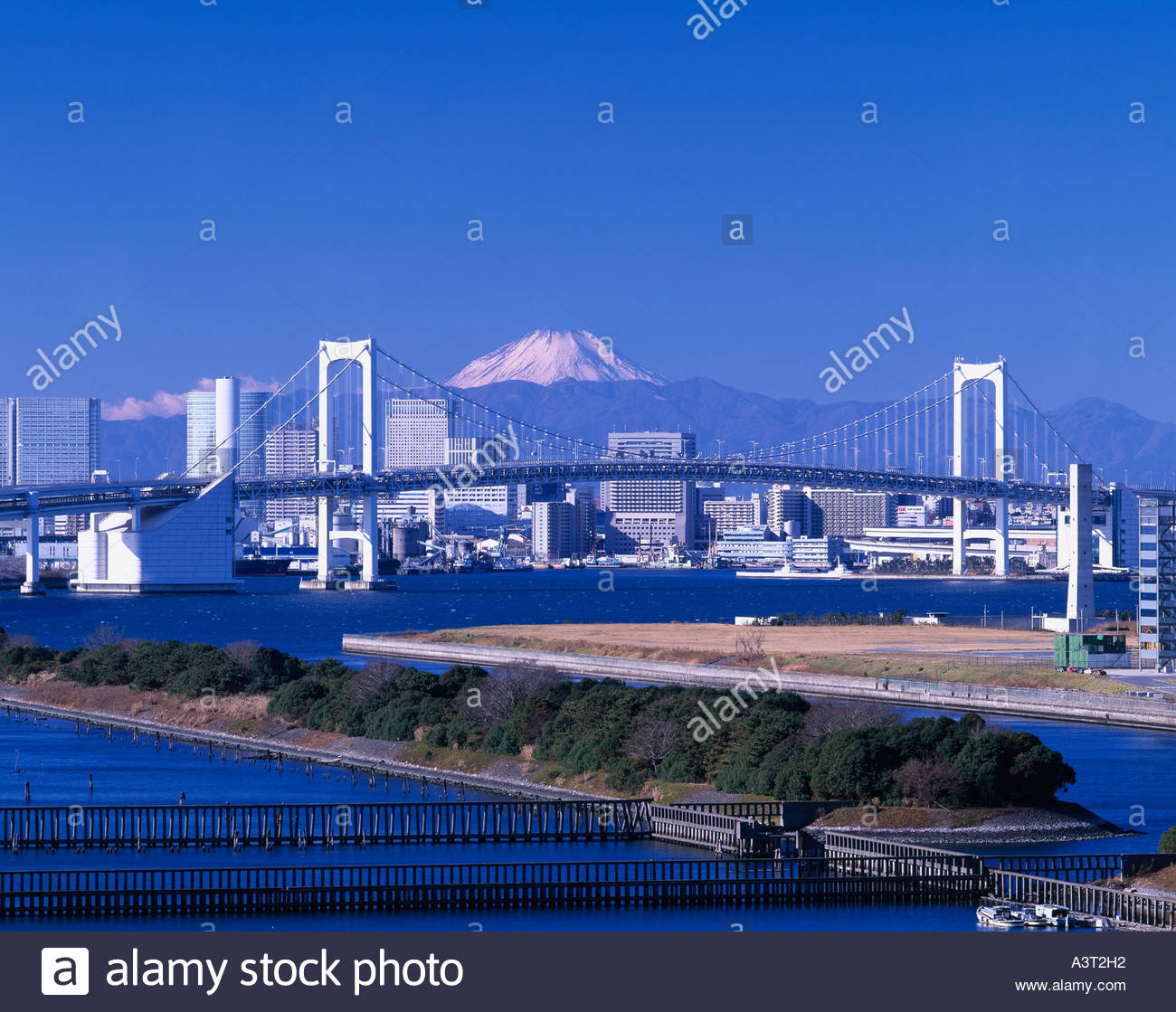 japan tokyo skyscrapers bridge - photo #12