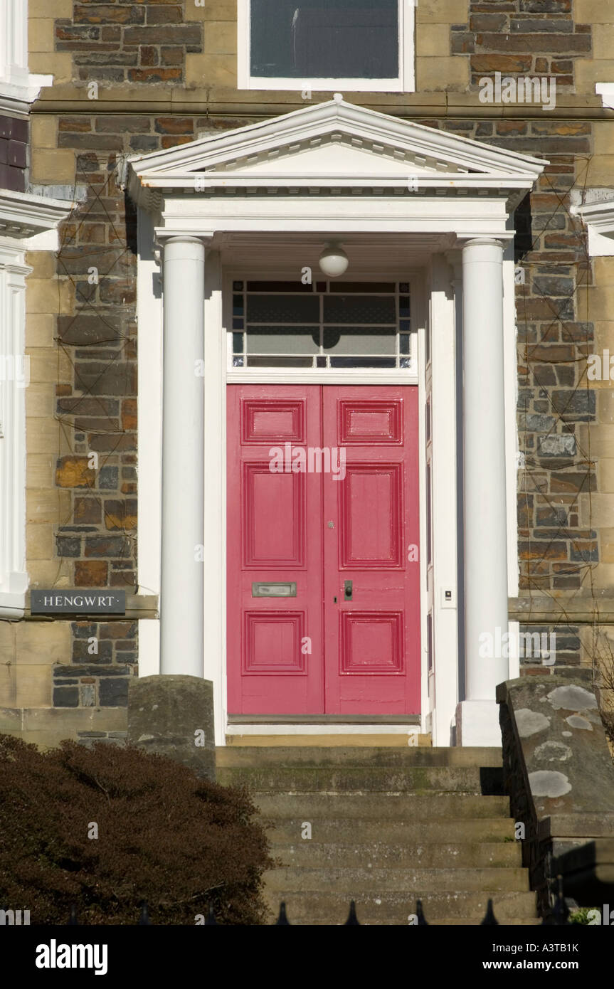Ornate Victorian House Column Door Way With Pediment And 6