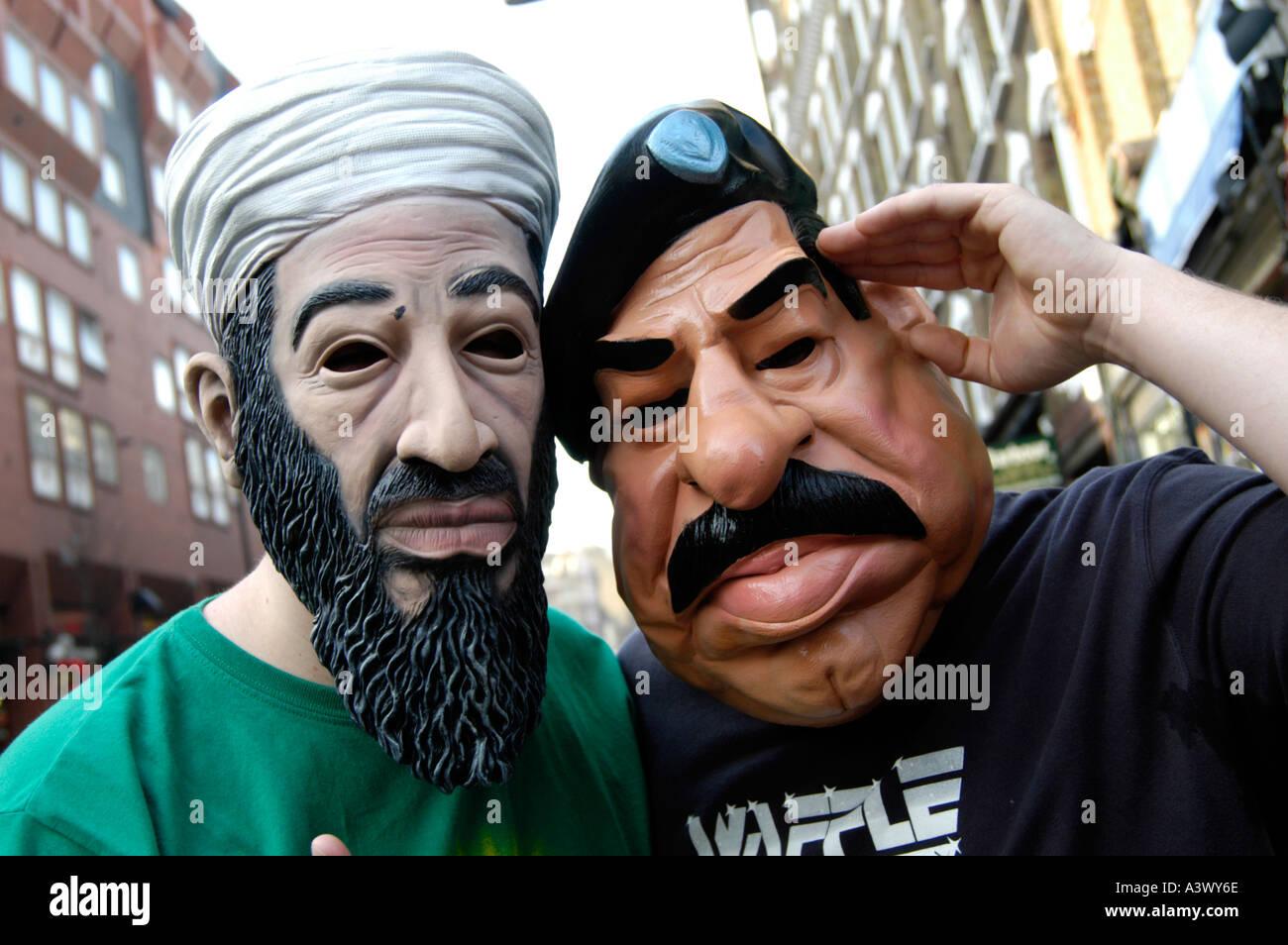 Osama Bin Laden Mask Stock Photos & Osama Bin Laden Mask Stock ...