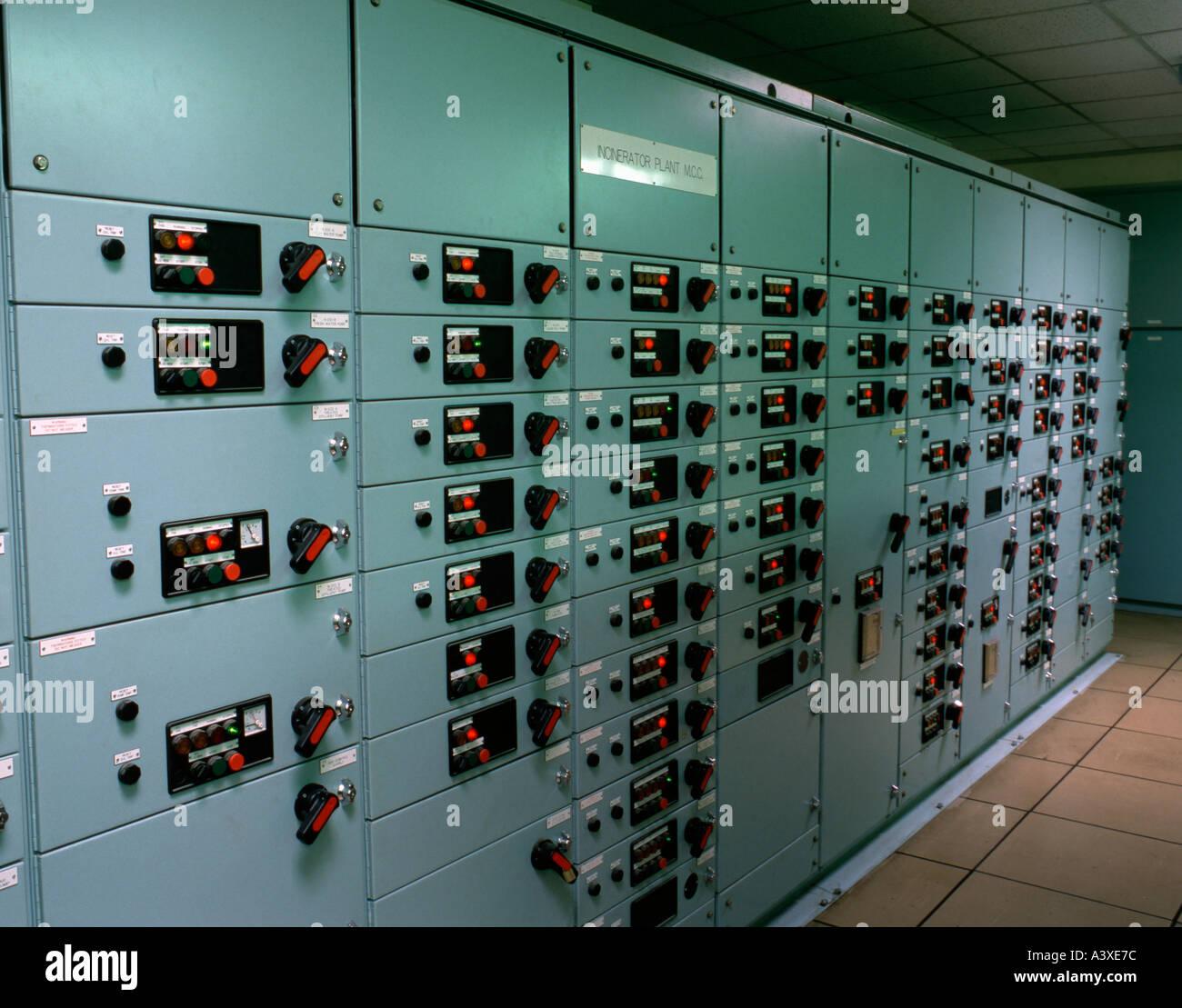 "Electrical Control Panels, ""Esholt Sewerage Sludge"