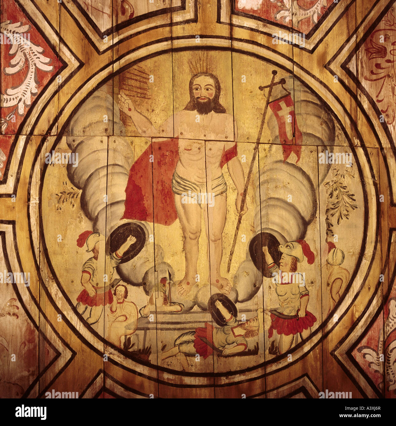 fine arts religious art jesus christ resurrection painting