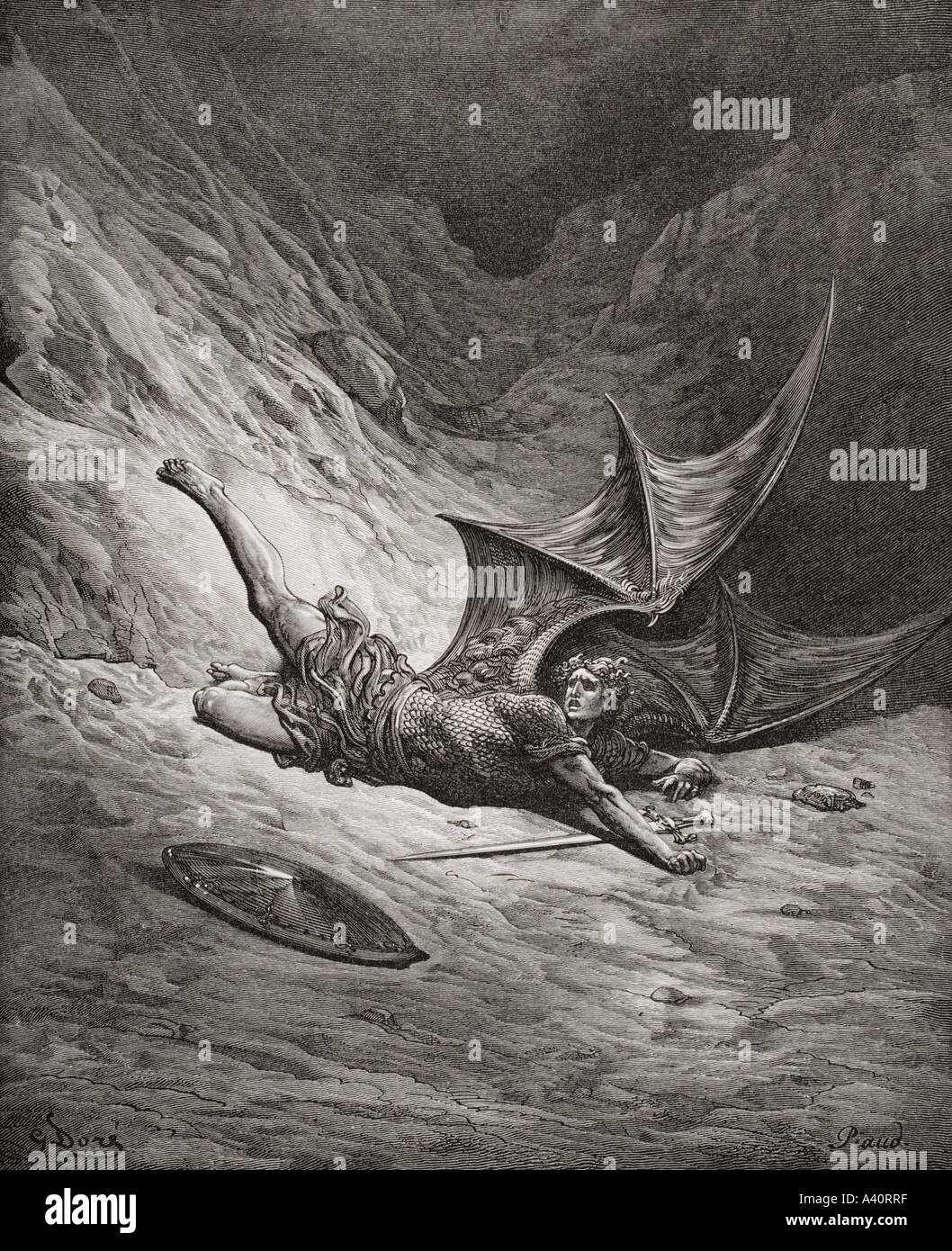 hero of paradise lost A research paper examining the hero problem in john milton's paradise lost within the context of william blake's infamous comment that milton 'was a true poet, and of the devil's party without knowing it'.