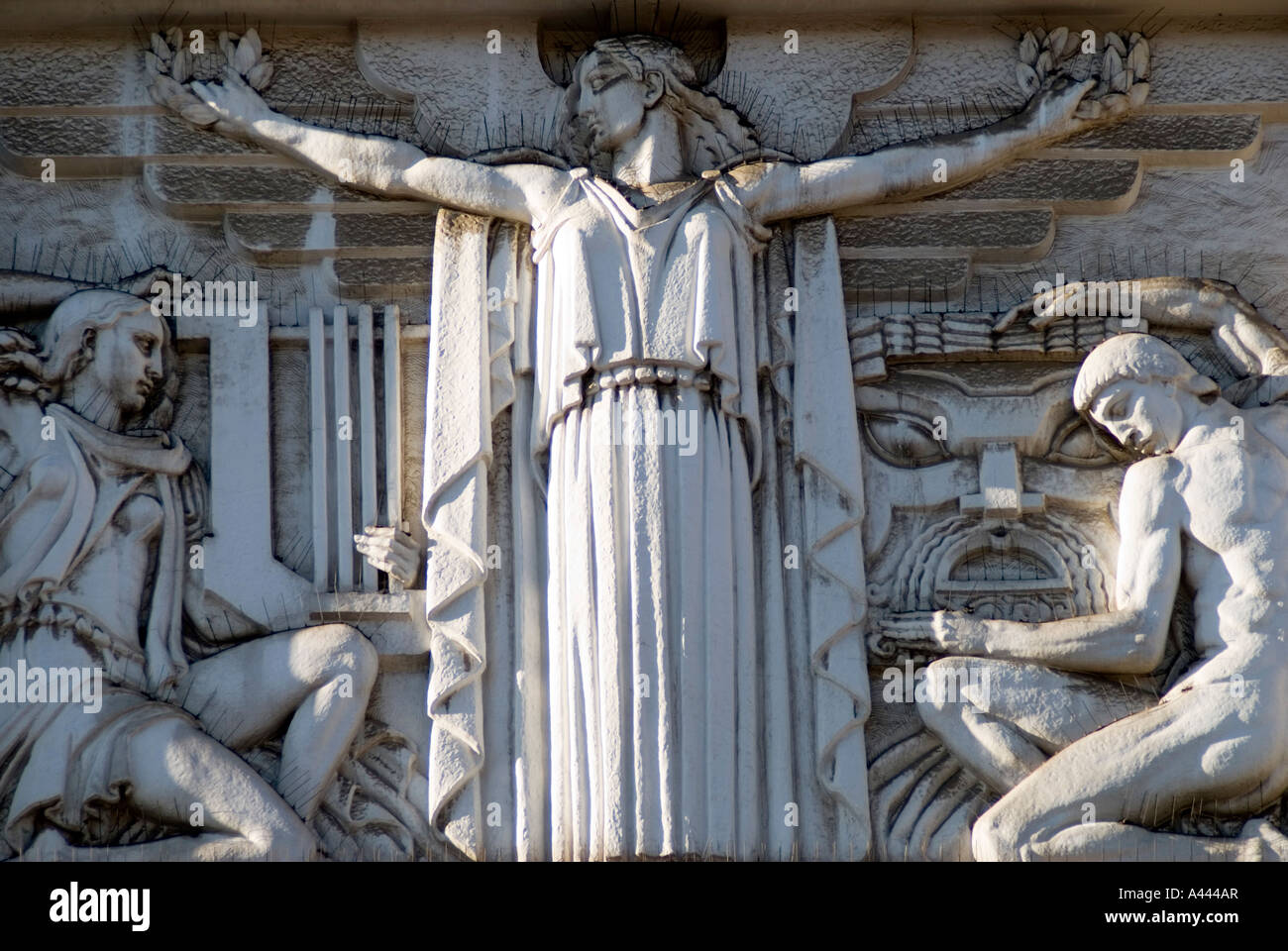 Detail Of The Old Art Deco Cinema Eden Which Is Now A Hotel Stock Photo Royalty Free Image