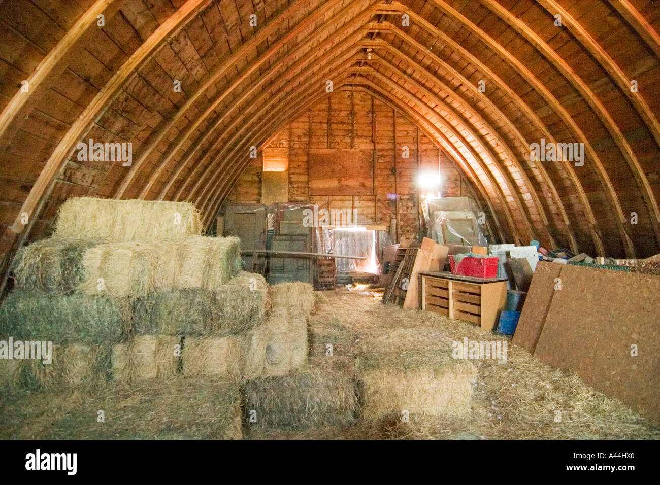 inside an old hip roof barn on the prairies of saskatchewan stock inside an old hip roof barn on the prairies of saskatchewan