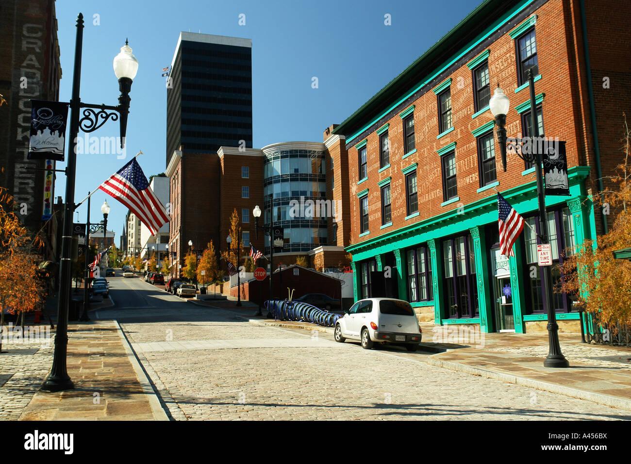 Country Kitchen Lynchburg Va Lynchburg Virginia Usa Downtown City Stock Photos Lynchburg