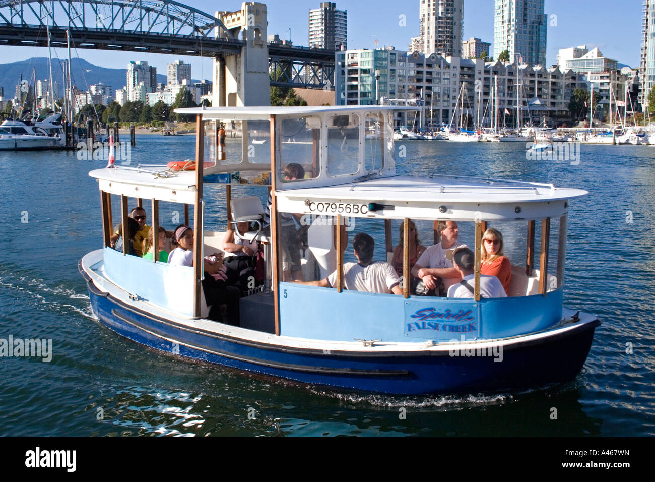 False Creek Ferry To Granville Island