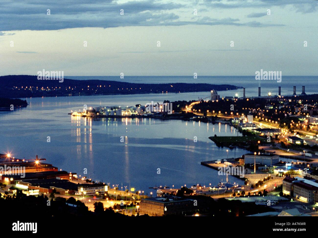 Sundsvall city