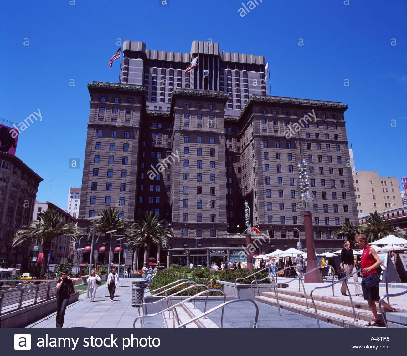 Union Square Westin St Francis hotel San Francisco United States ...