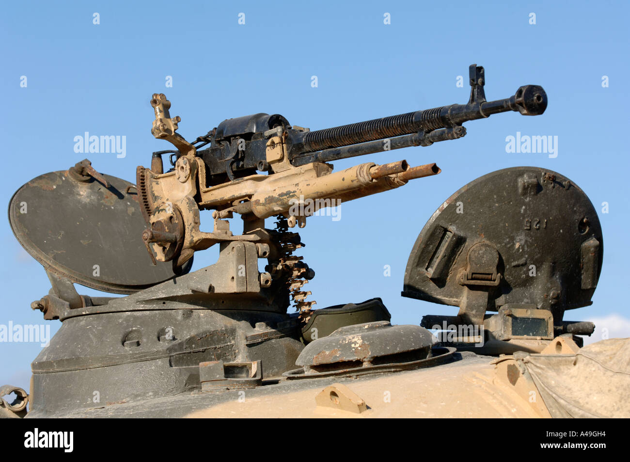 Machine tank