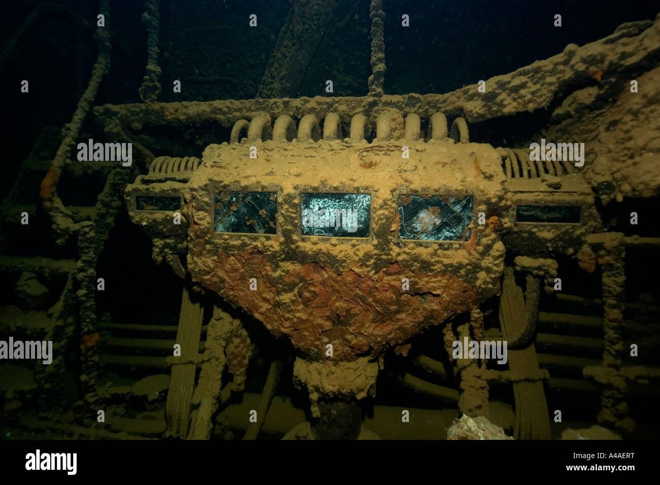 Engine room shinkoku maru truk lagoon chuuk federated states of micronesia pacific