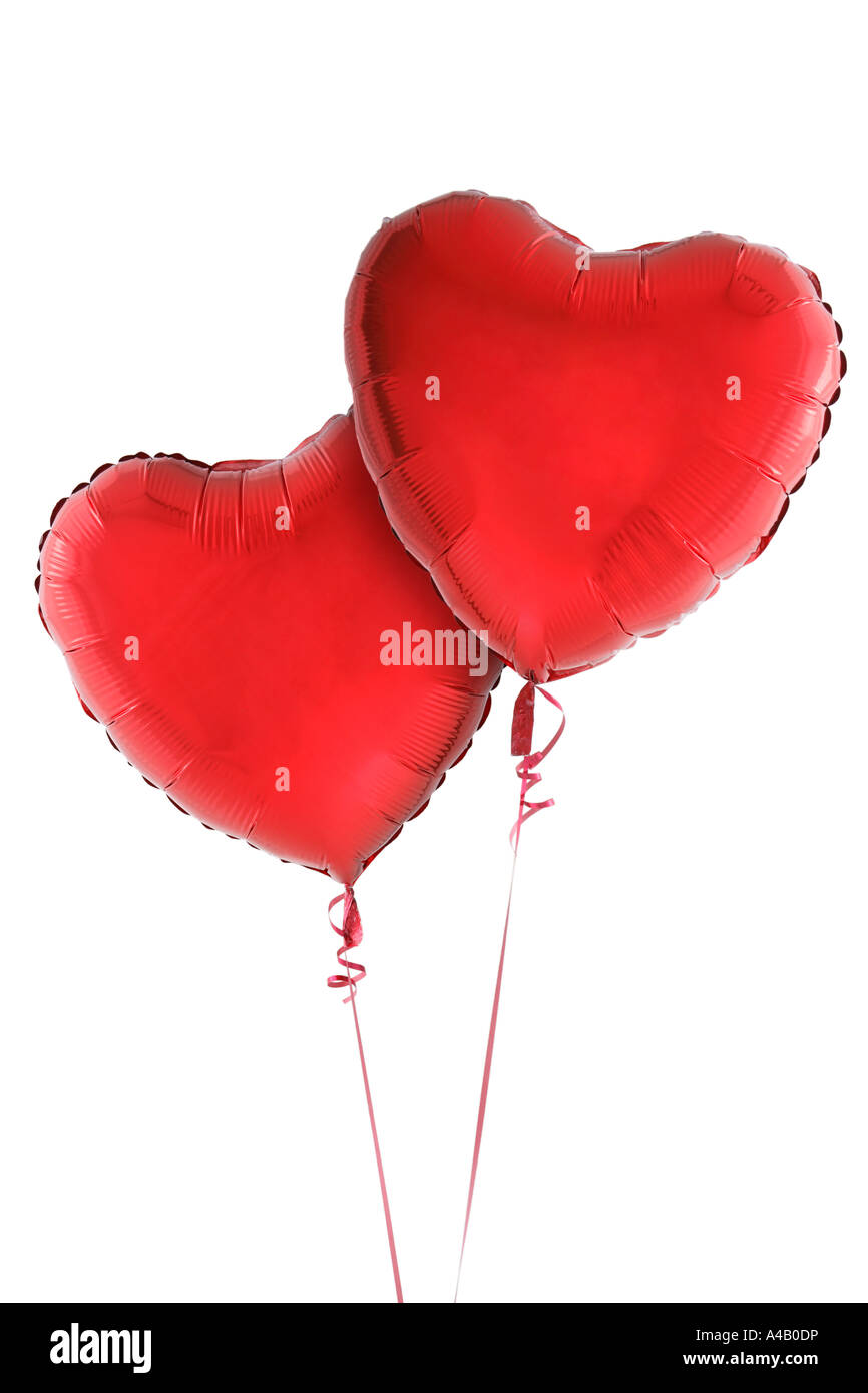 Sweet two red heart lover for Valentine\'s day love art background ...