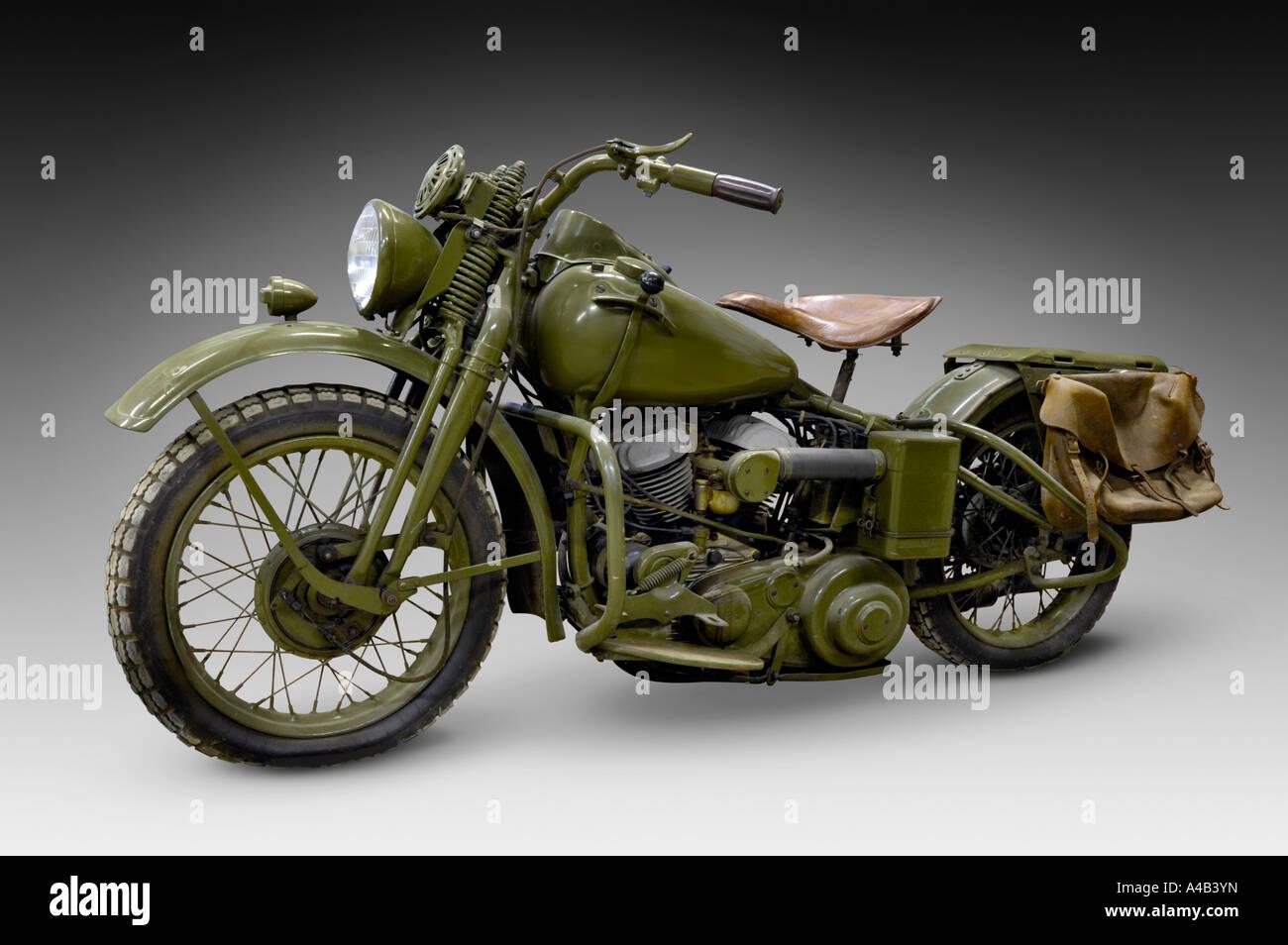 Vintage Harley Motorcycle 16
