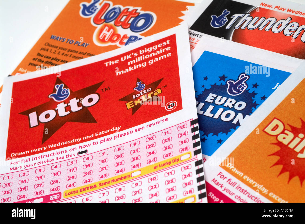 National ,Lottery, play, slip, Game, Cards, tickets, National ...