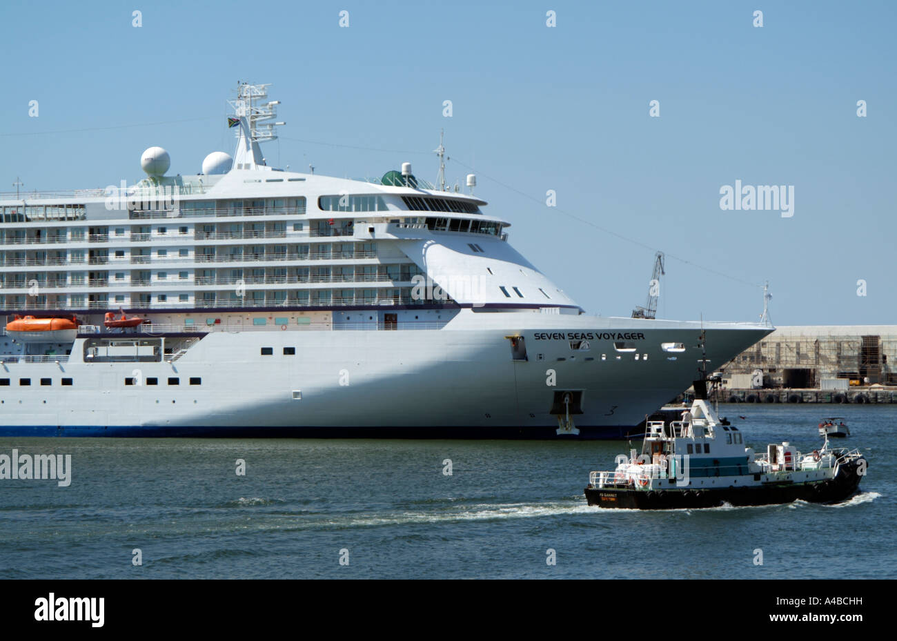 Waterfront Cape Town South Africa RSA Cruise ShipLiner Stock - Cruise ship packages south africa