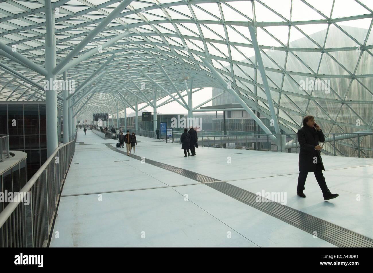 New fiera milano rho pero by architect massimiliano fuksas for Fiera milano rho