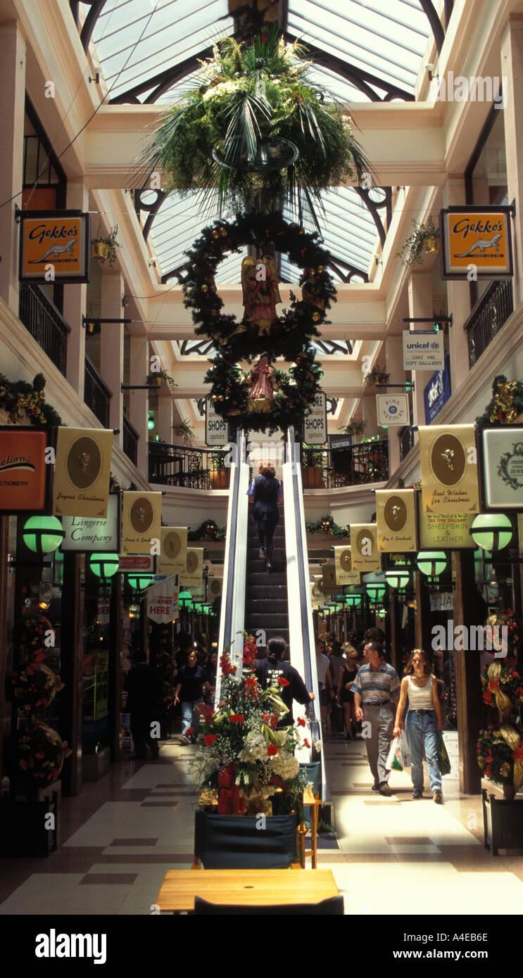 new zealand auckland downtown shopping arcade interior christmas new zealand auckland downtown shopping arcade interior christmas decorations
