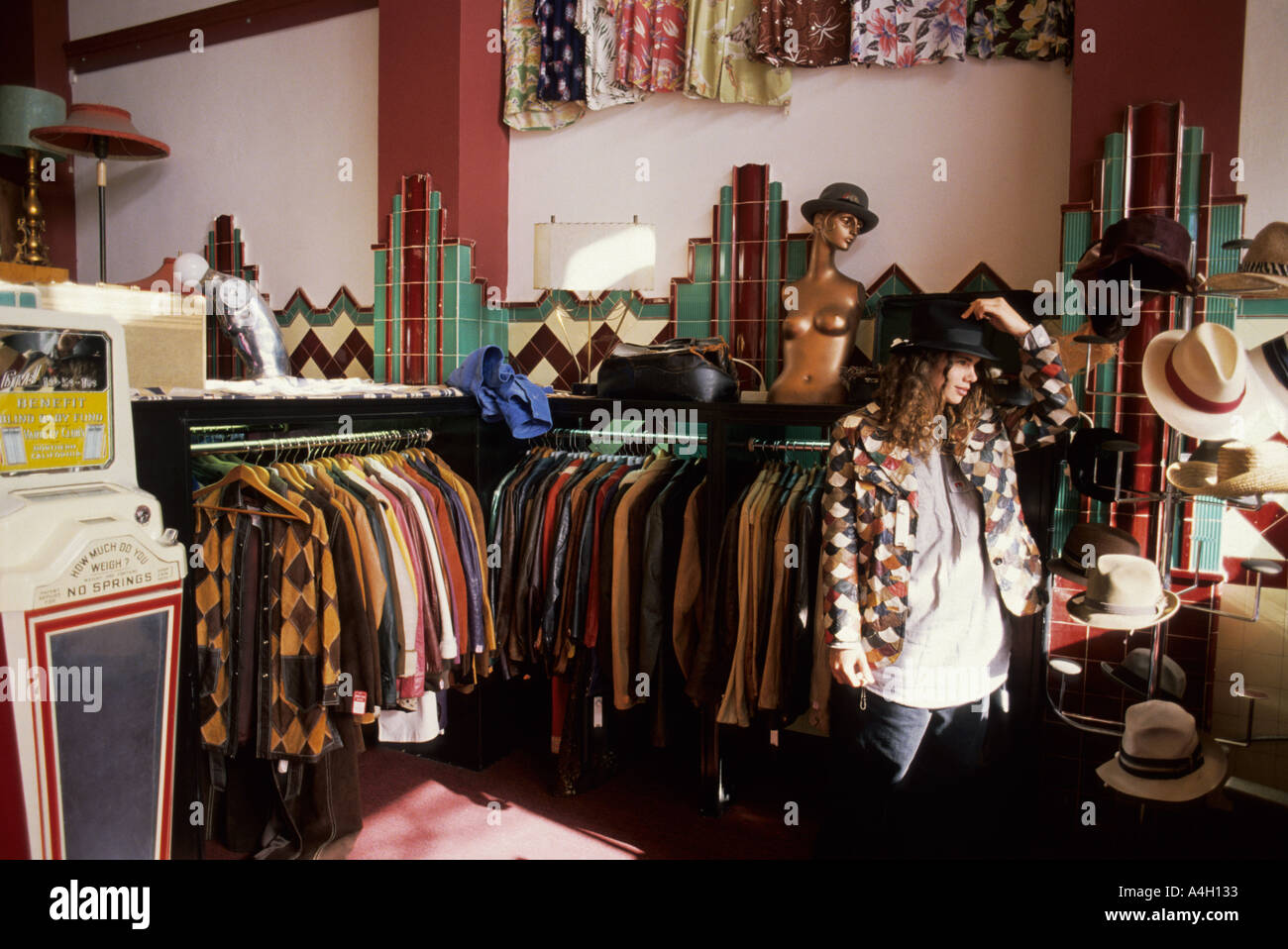 Cheap San Francisco California Trying On A Hat In The Second Hand Store  Waistland On Haight Street With Furniture Stores San Francisco Ca