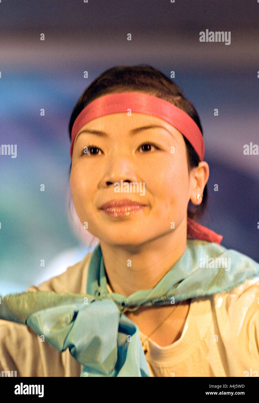 CHINA YANGTZE RIVER Beautiful Young Chinese Entertainer For - Cruise ship songs