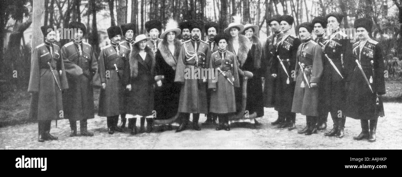 a history of the reign of tsar nicholas ii and the russian revolution in 1917 But while the romanovs' political reign was over, the story of the line's last ruler   tsar nicholas ii of russia with tsarina alexandra and their children grand   was overthrown by lenin and the bolsheviks in october 1917.