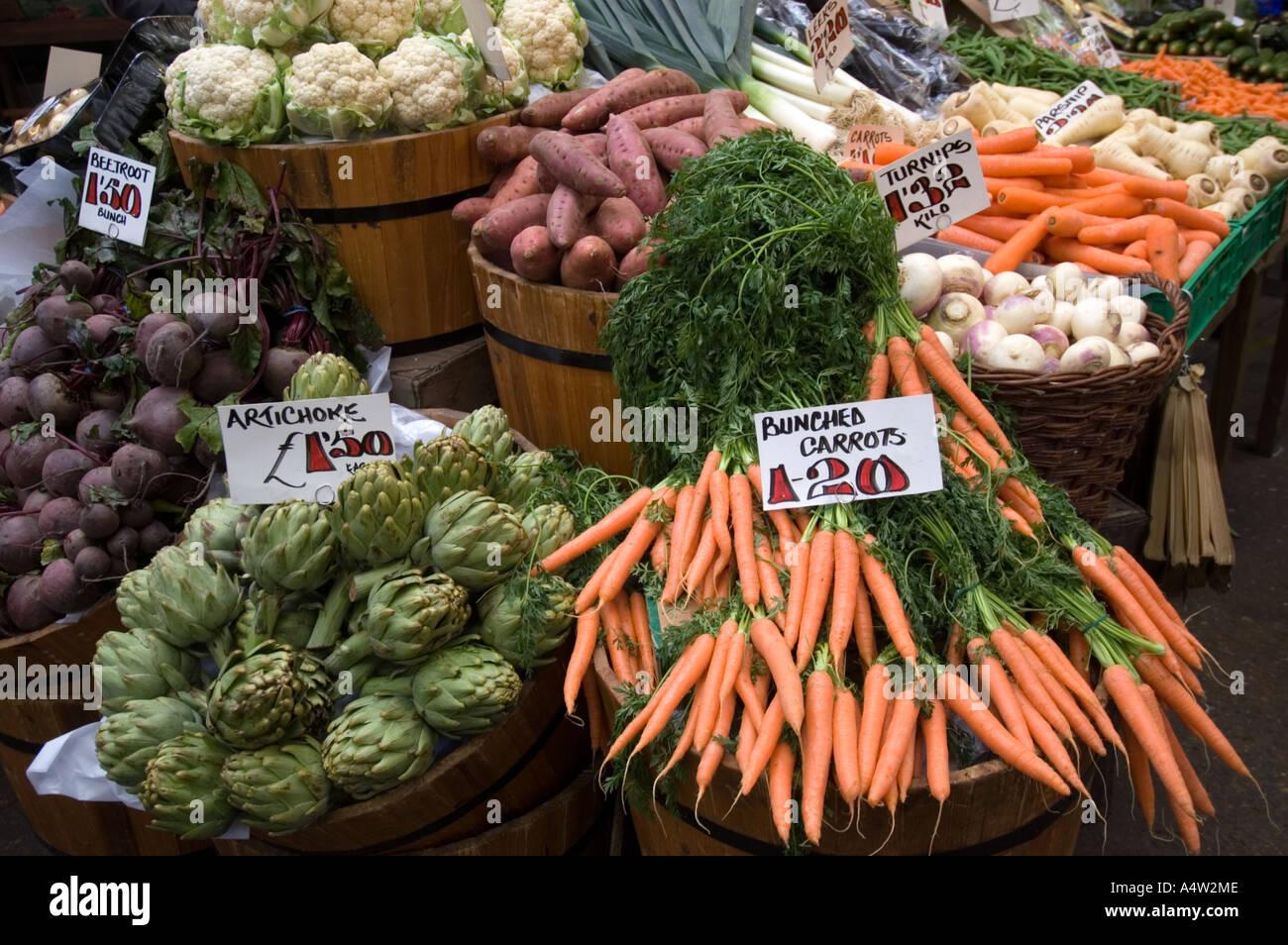 London Food Market Food Stalls Fresh Produce