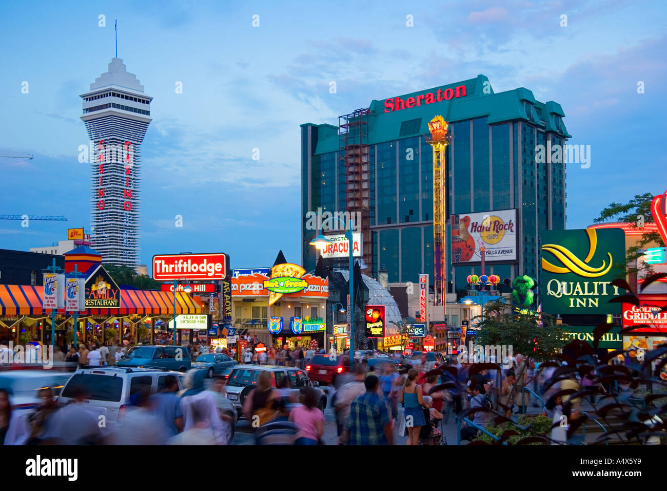 Hotels Near Clifton Hill Niagara Falls Ontario