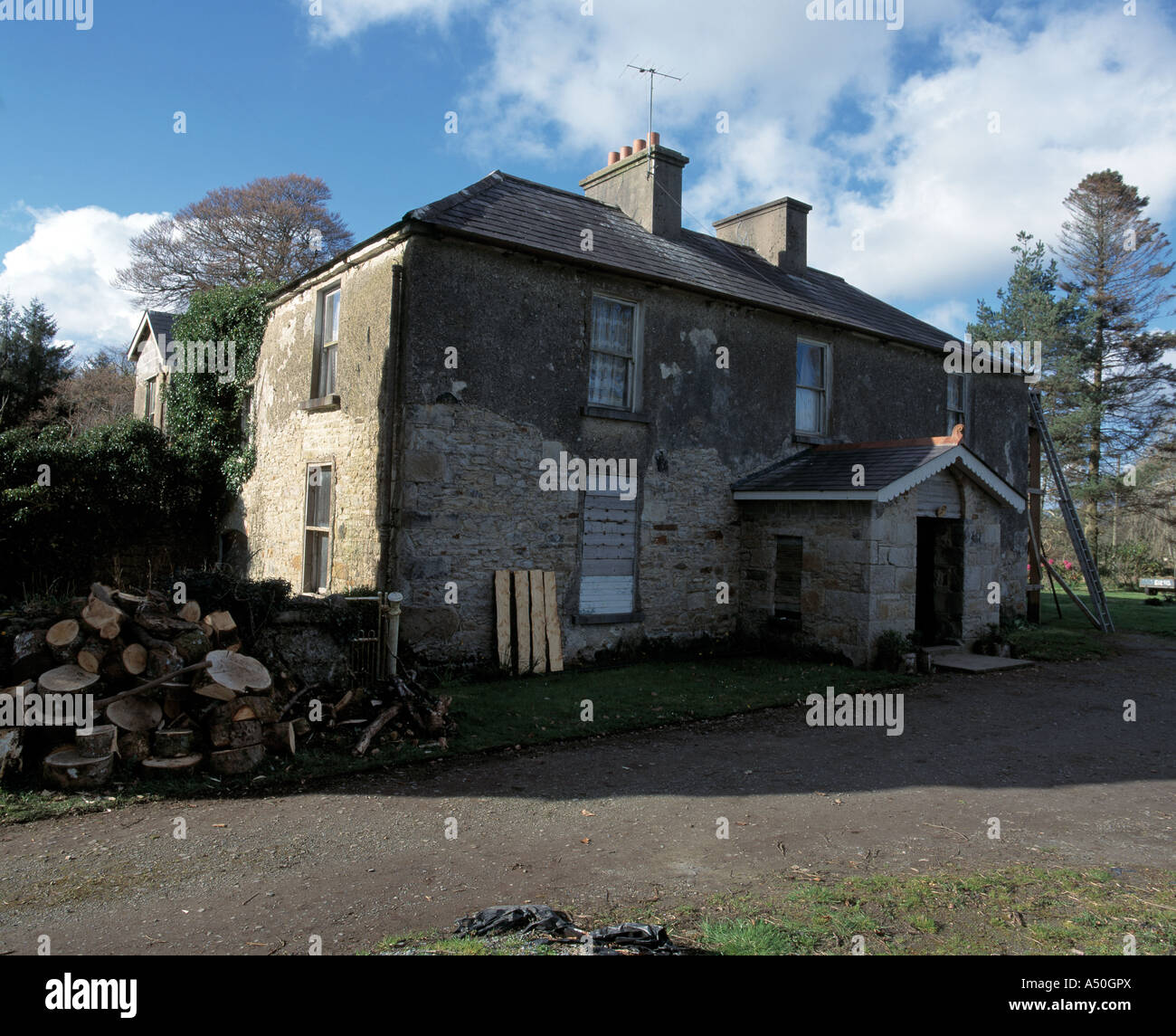 old style two storey dwelling house birthplace of of rafferty the ...