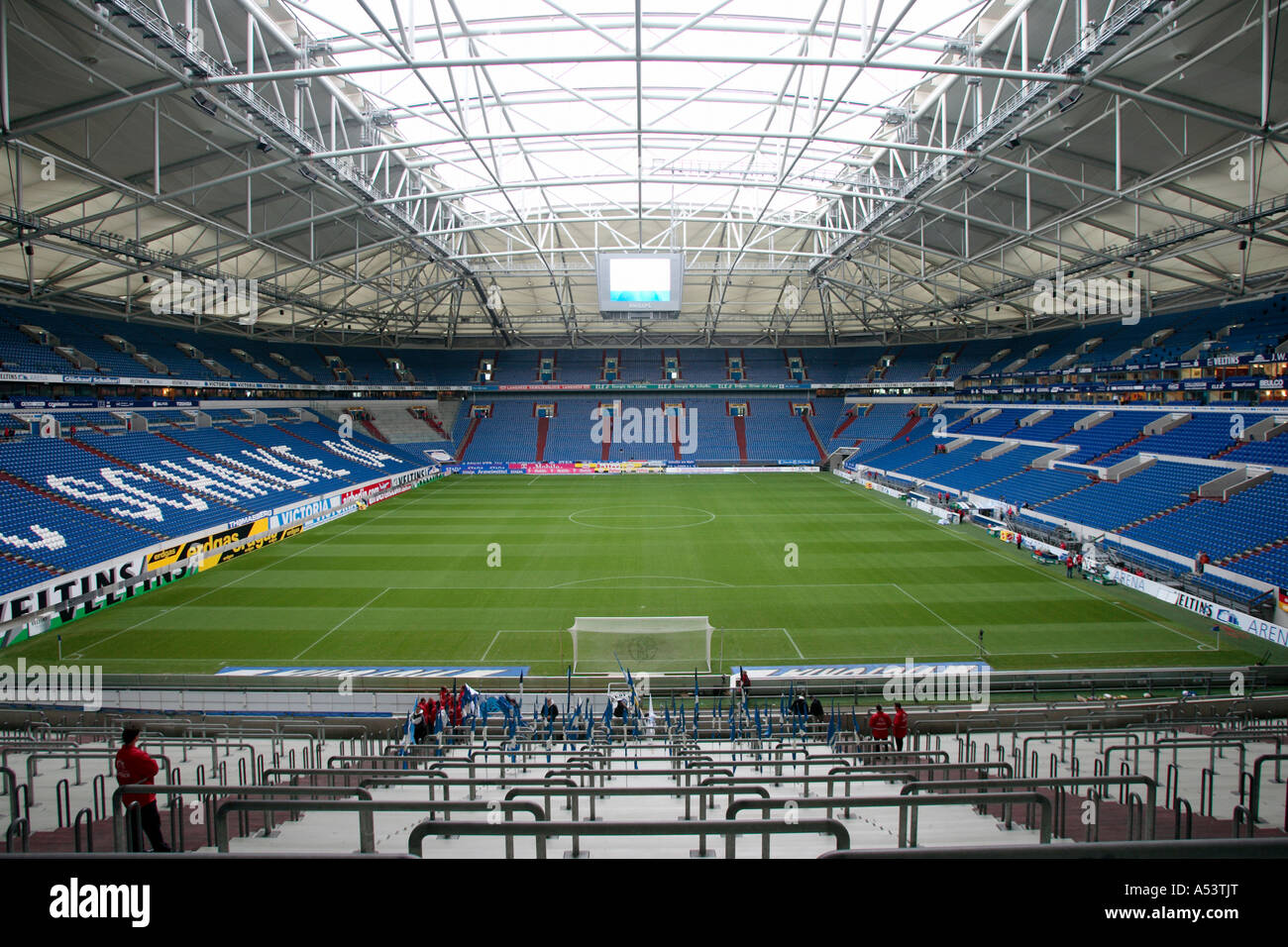 the arena aufschalke now veltins arena gelsenkirchen germany stock photo royalty free image. Black Bedroom Furniture Sets. Home Design Ideas