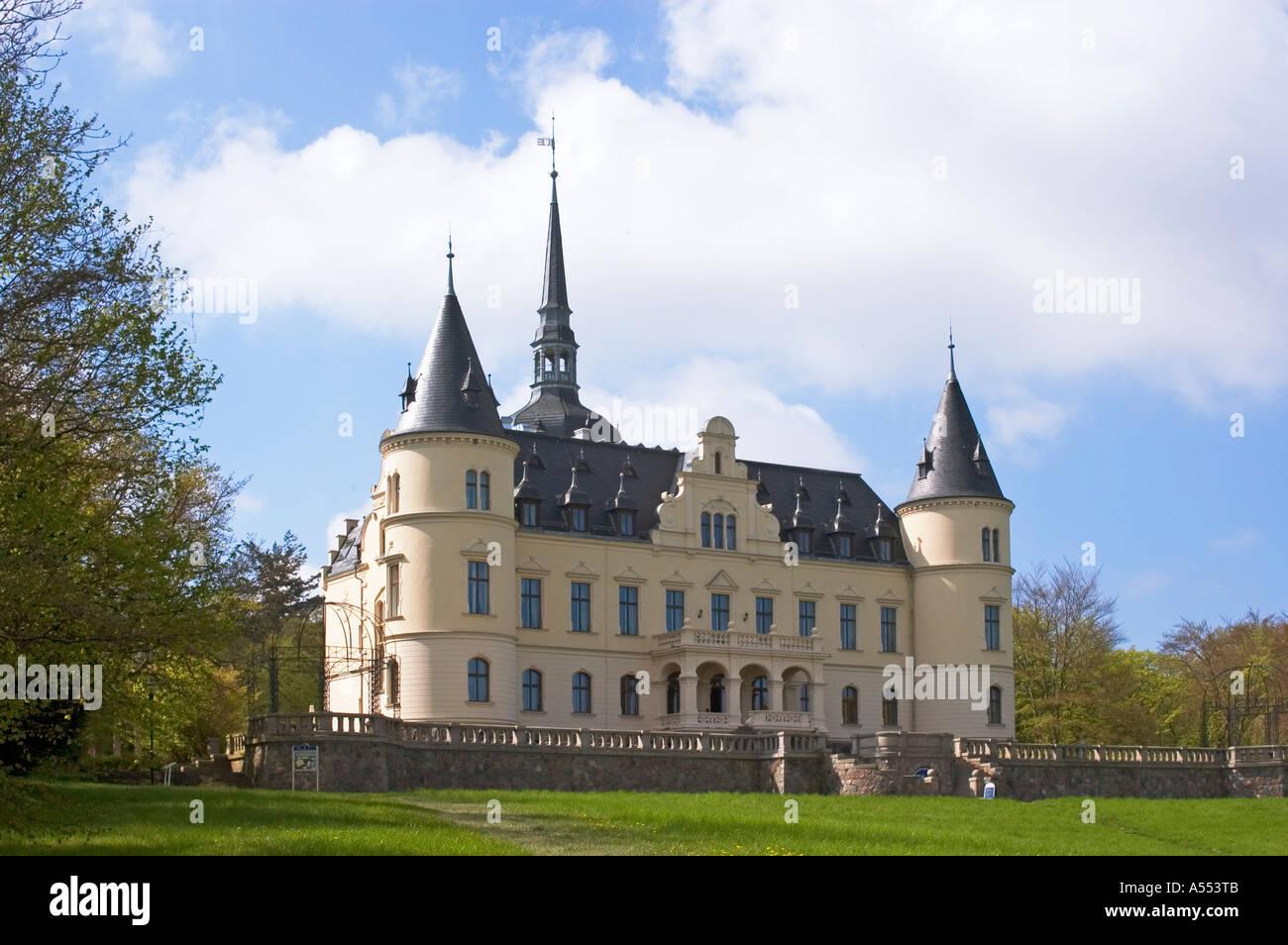 Island Rügen Ruegen Mecklenburg-Vorpommern Germany Ralswiek castle ...