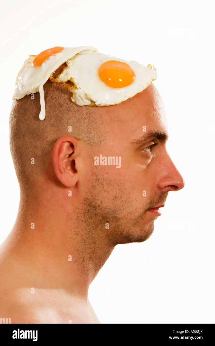 Голова в форме яйца стрижки