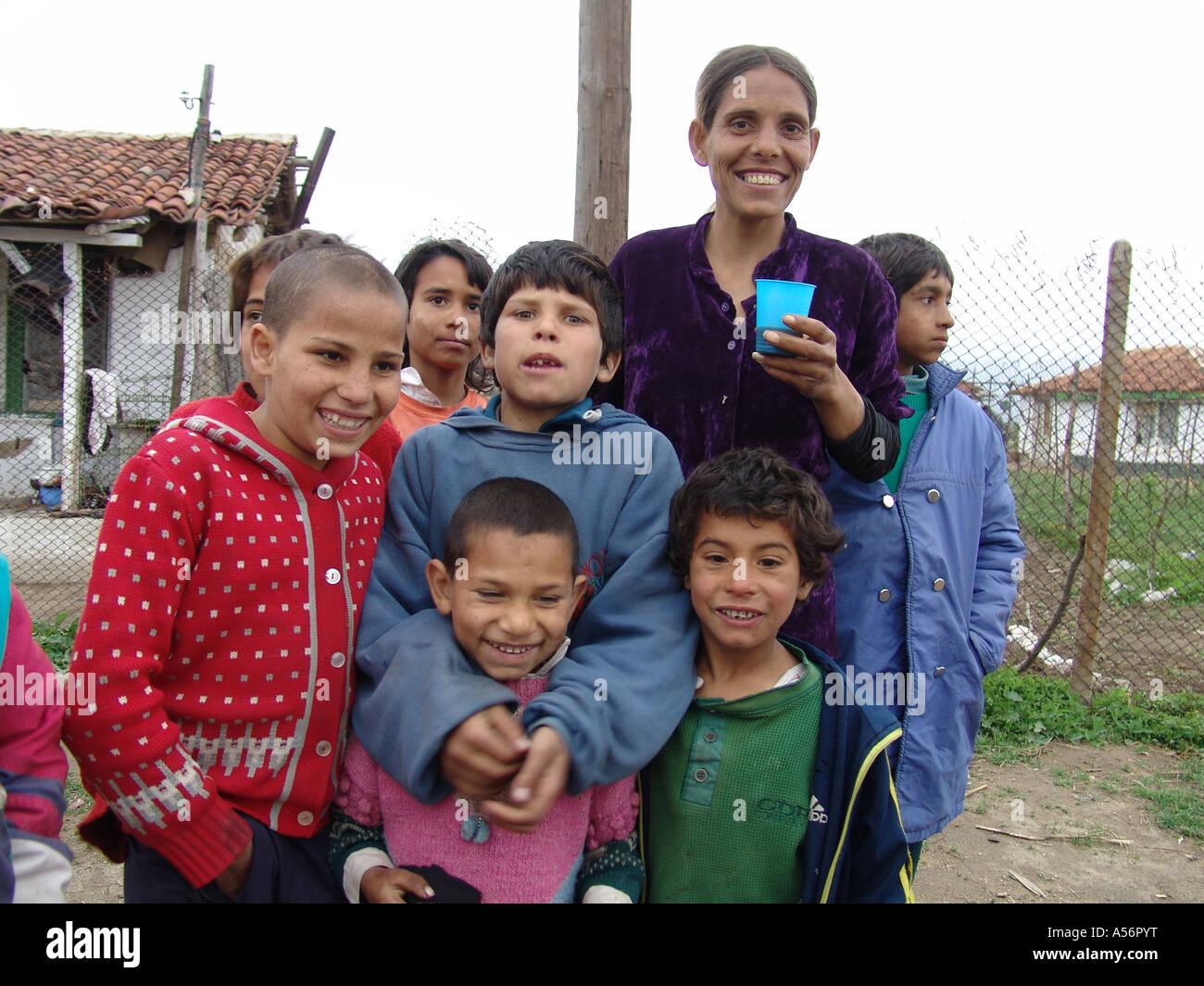 gipsy child Painet ja0737 family bulgaria romas karlova photo 2004 europe child kid children  kids gypsy gipsy country