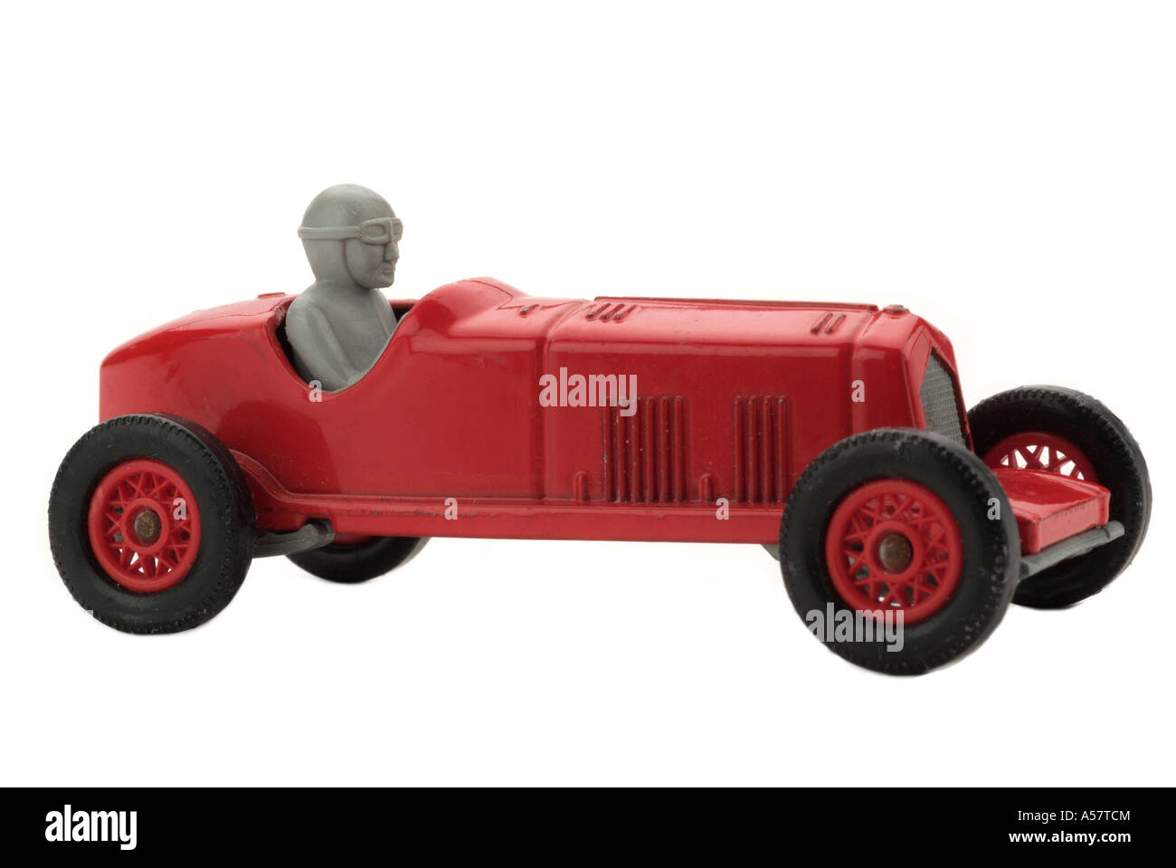 Red toy racing car old fashioned 1930 vehicle speed danger auto ...