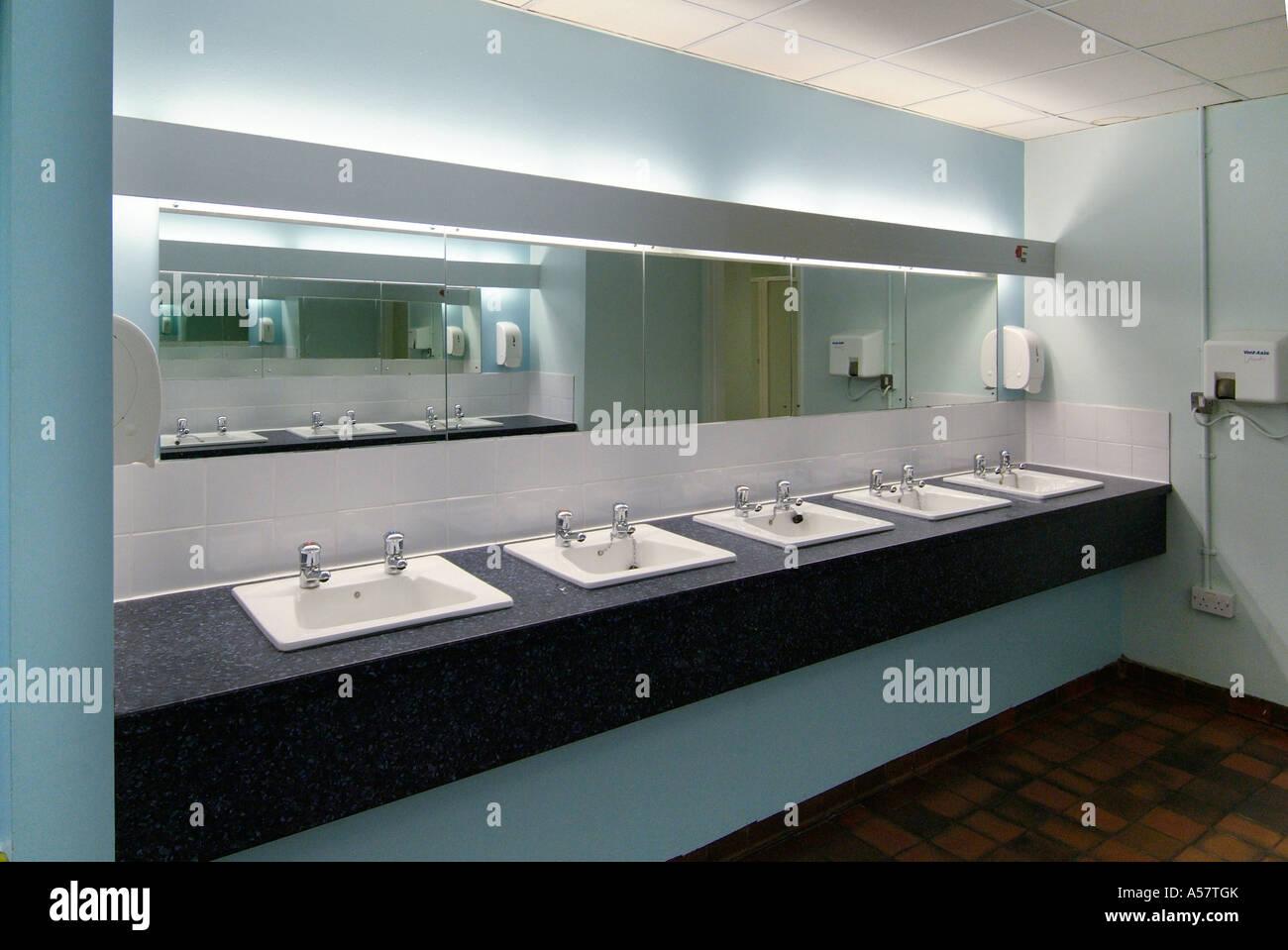 Washroom Taps : Washroom Public Hand Basin Porcelain Mirror Clean Ablution Toilet Tap ...