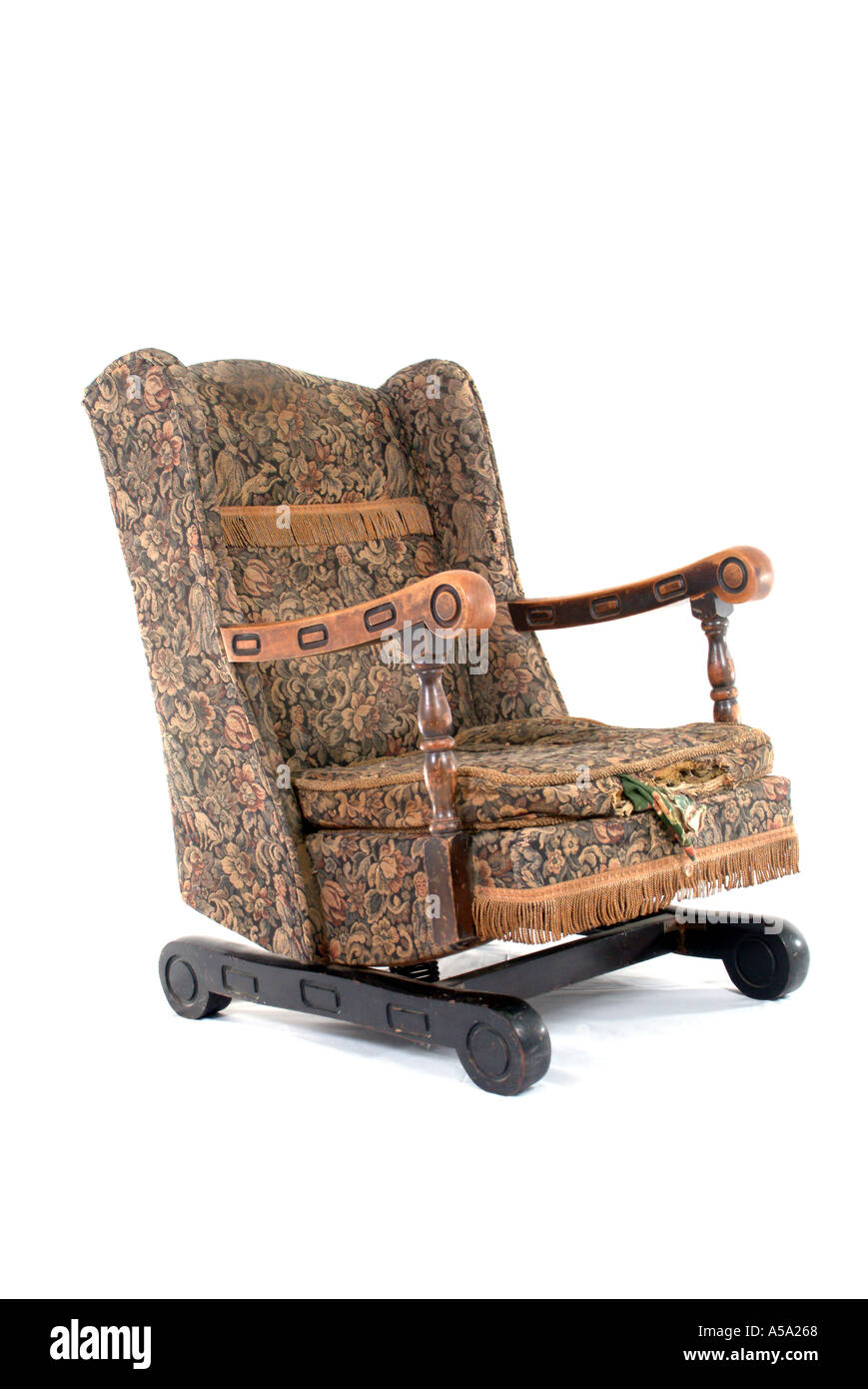My Old Rocking Chair in Need of Tender Loving Care Stock ...