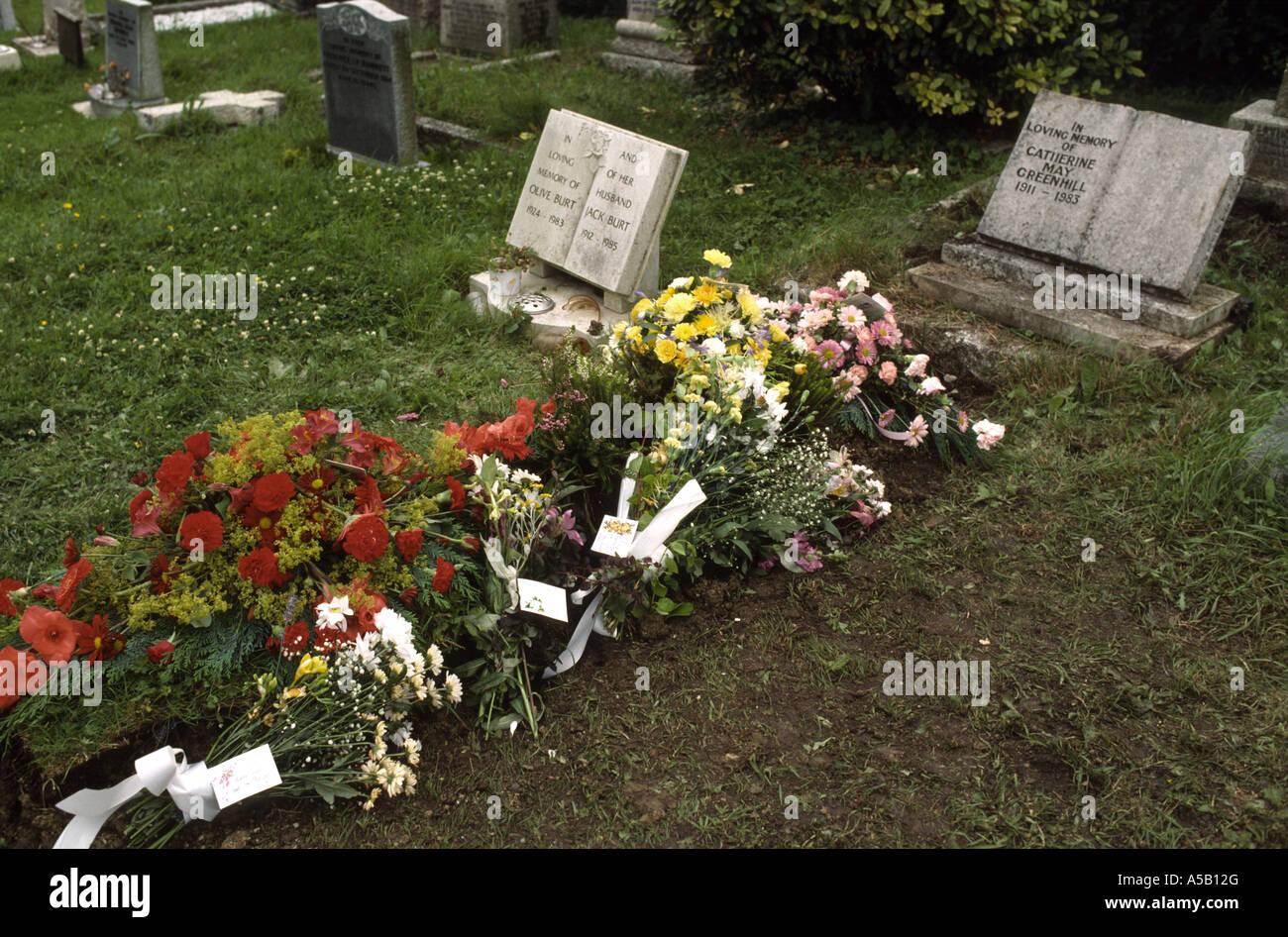 New Grave Stock Photo - Image: 5437160