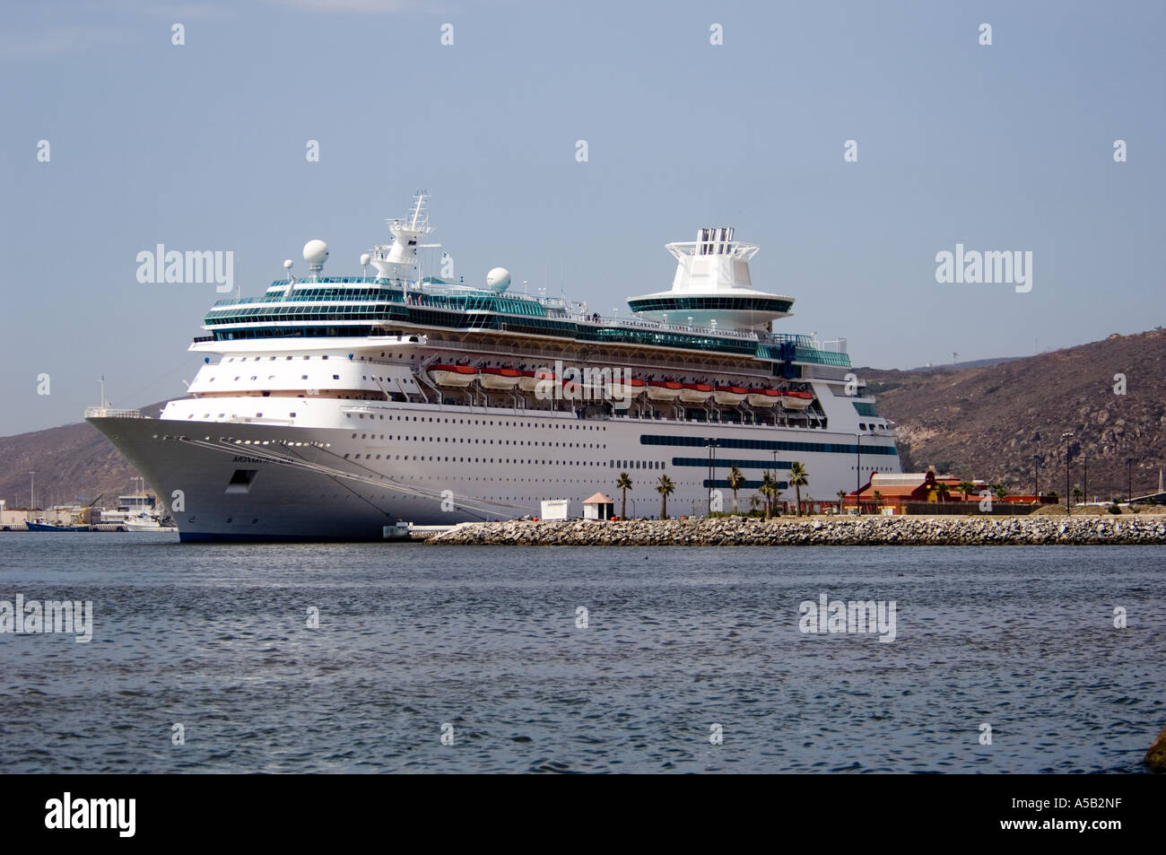 Cruise Ship At Port Ensenada Mexico Stock Photo Royalty Free - Cruise to ensenada
