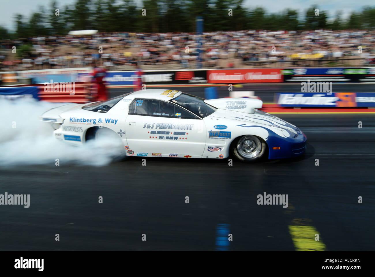 pro stock pontiac firebird drag racing car Stock Photo: 11272472 ...