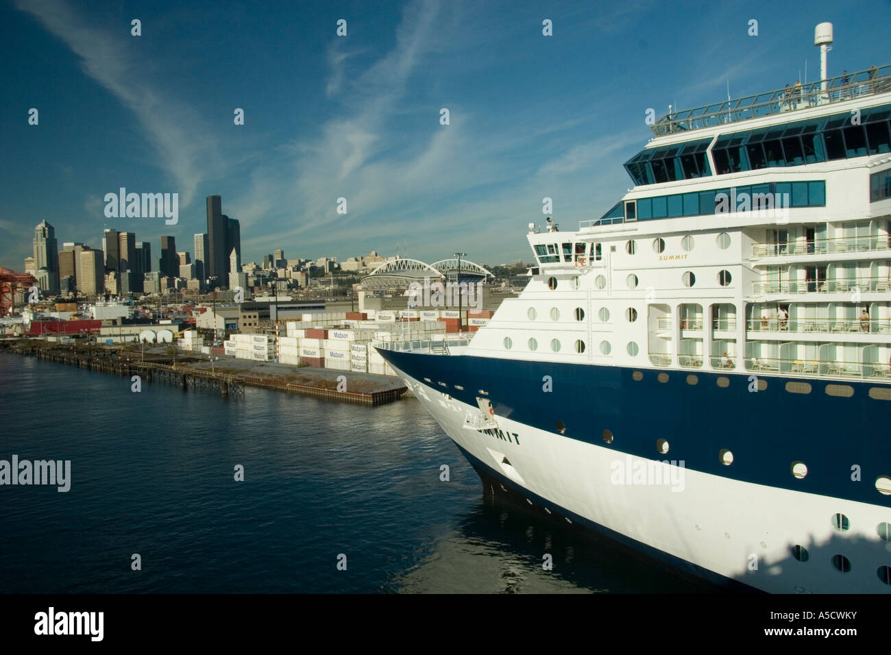 Scenic Views Of The Celebrity Cruise Lines Summit Cruise Ship And - Summit cruise ship