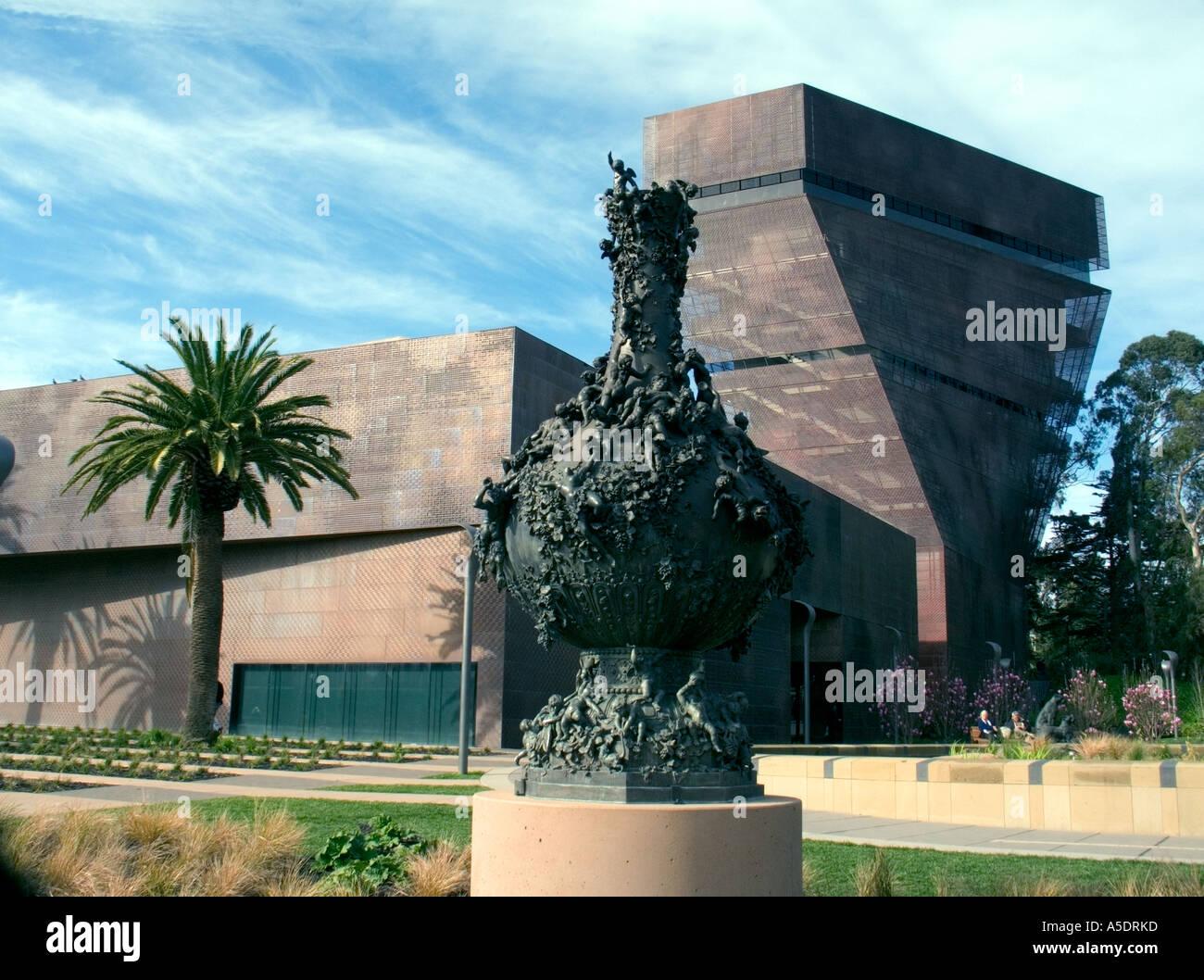 De young art museum golden gate park san francisco stock for Museum craft design san francisco