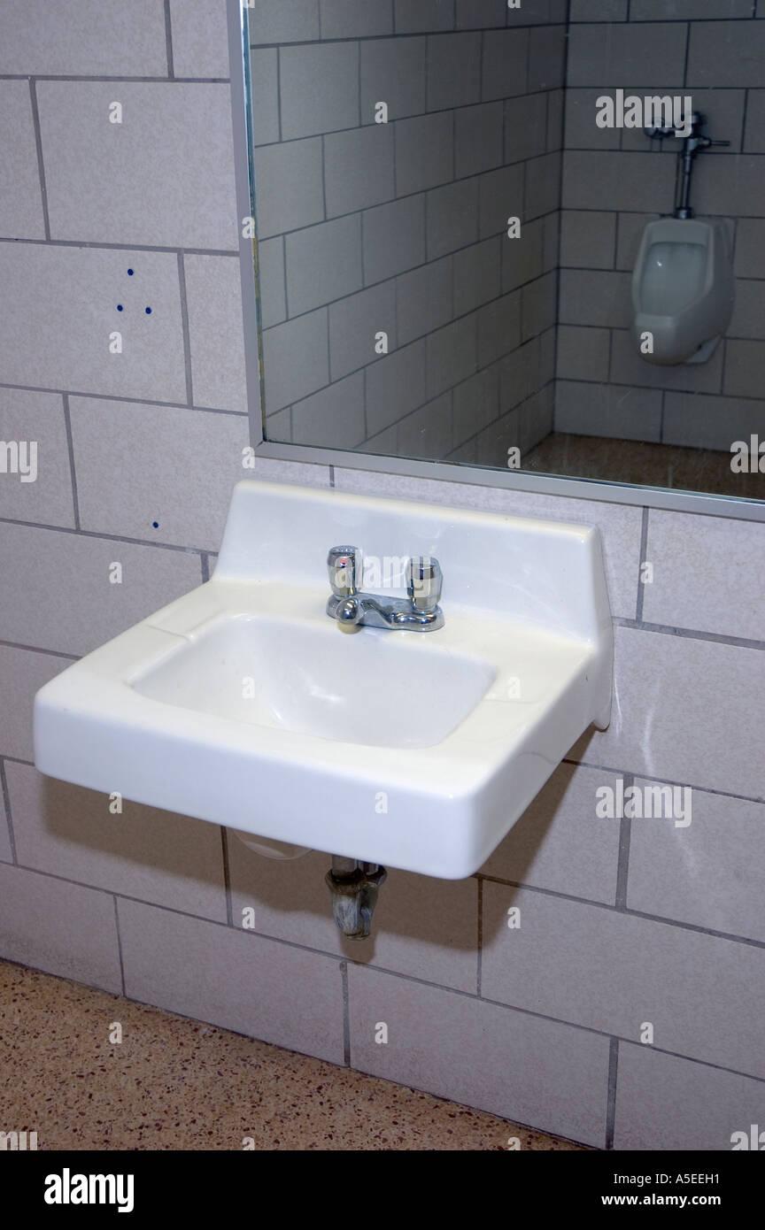 Public Bathroom Mirror Ref