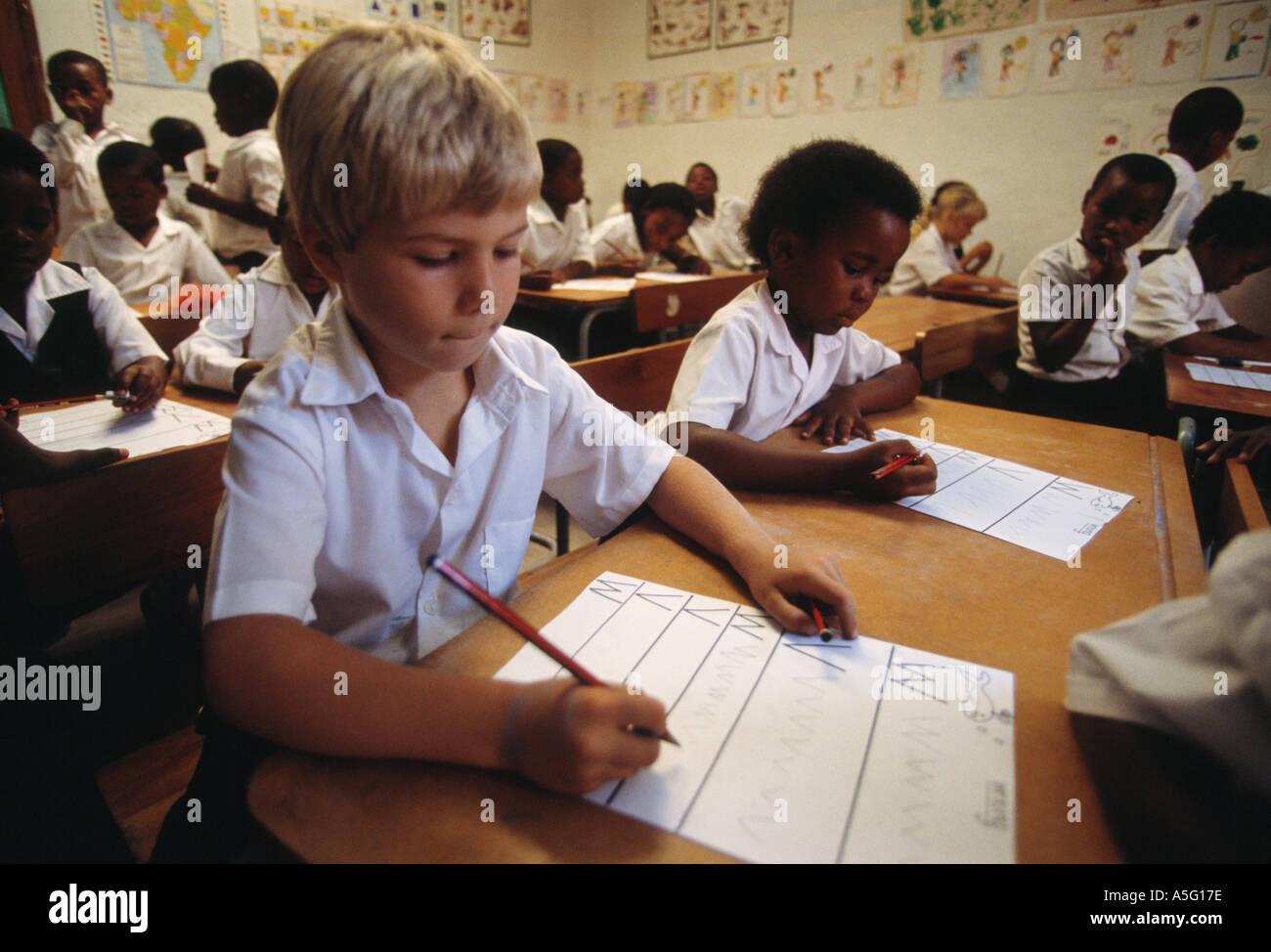 Gender separation in mixed schools