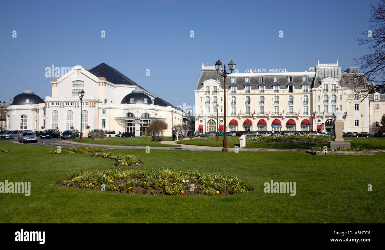 Grand hotel and casino cabourg normandy france from for Hotels cabourg