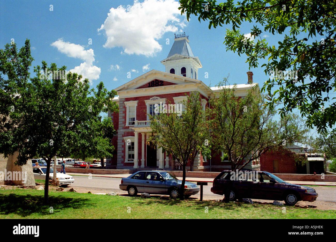 Arizona cochise county cochise - Stock Photo The Cochise County Courthouse Tombstone Arizona Usa