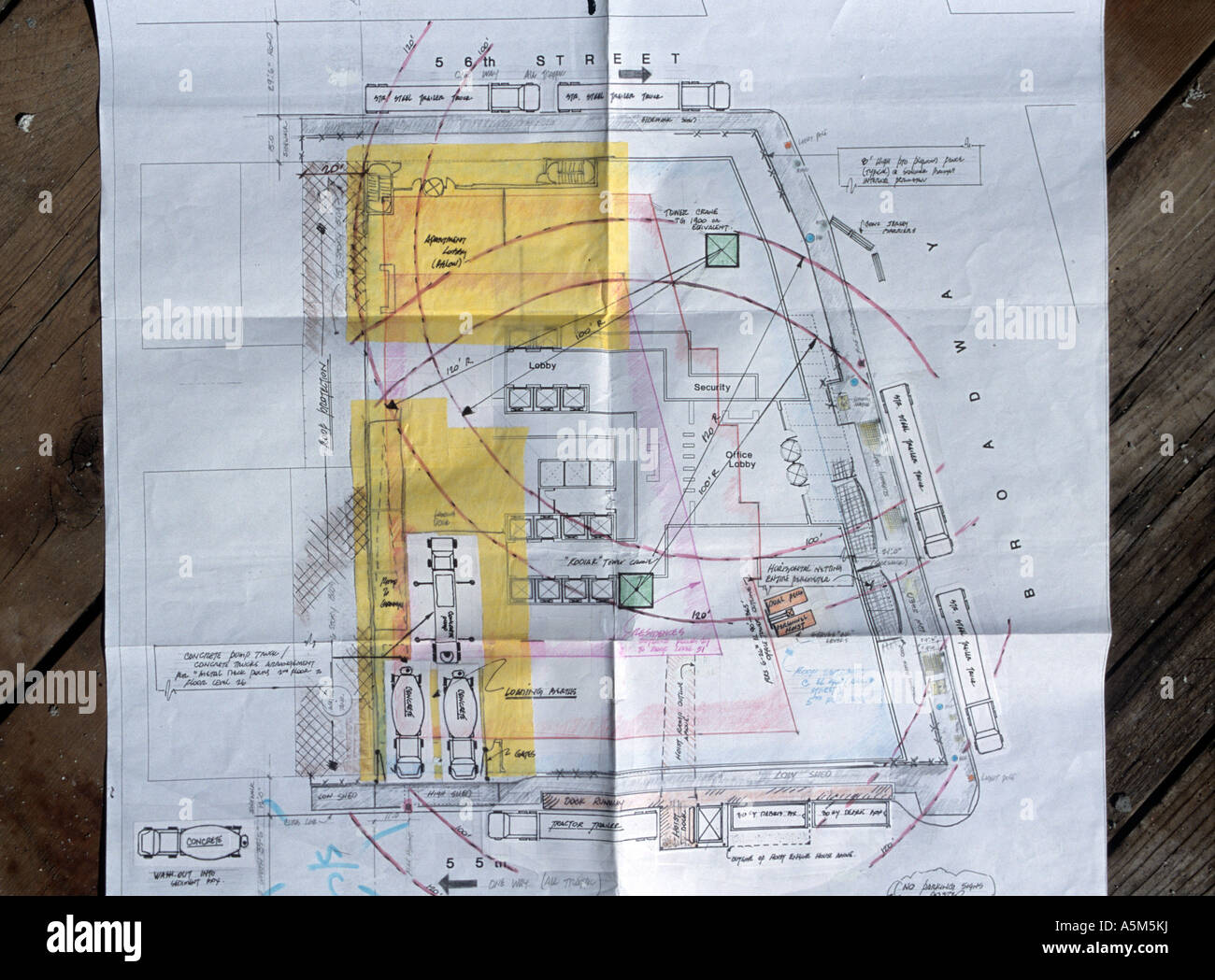 Blueprints from logistical engineers for new random house building blueprints from logistical engineers for new random house building in new york city malvernweather Choice Image