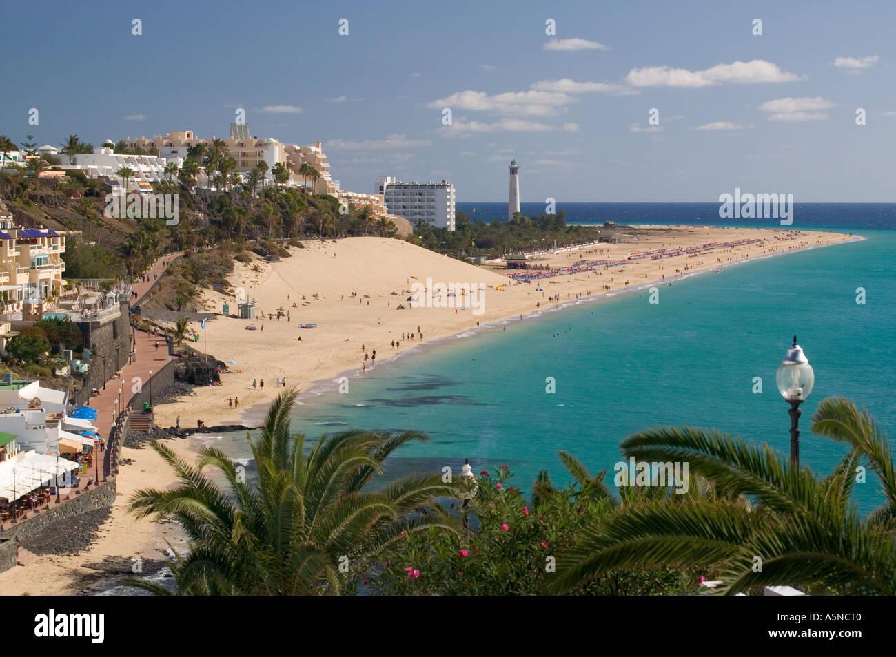 Playa De Sotavento De Jandia Morro Jable Fuerteventura Canary Islands Stock Photo Royalty Free