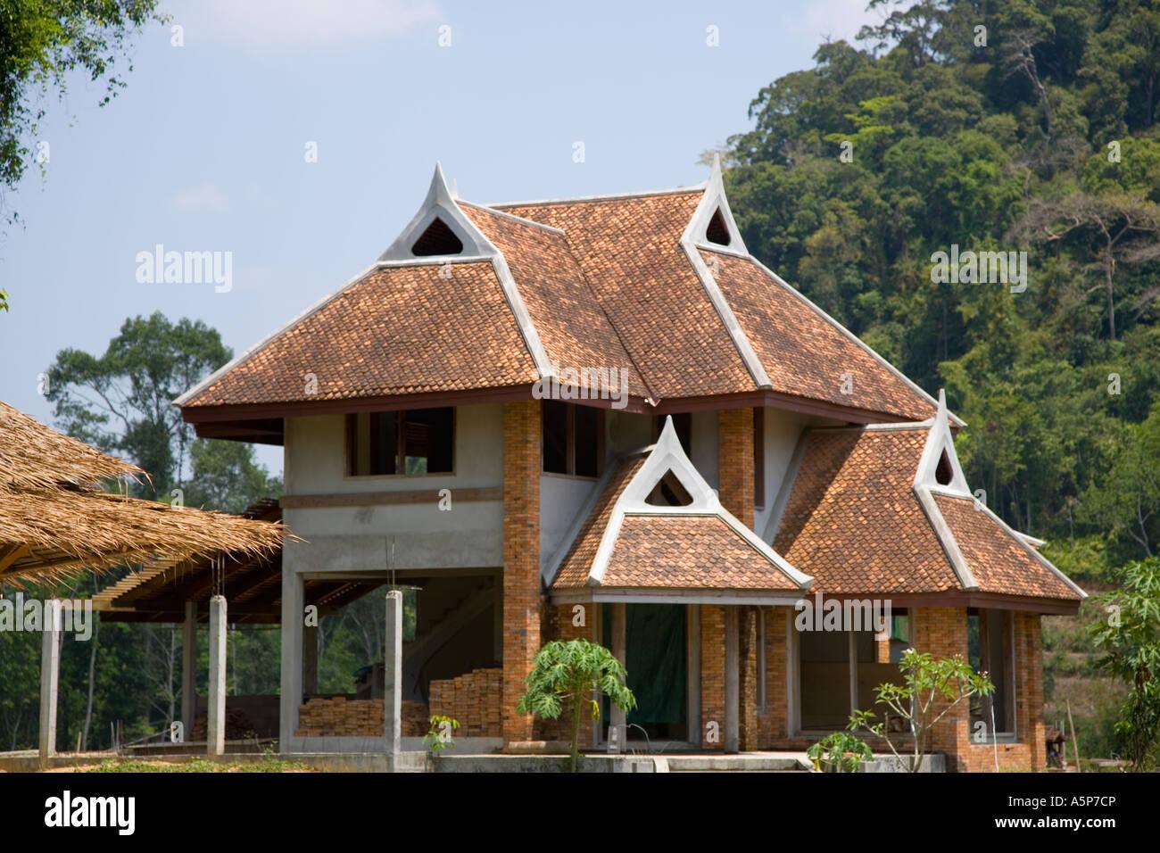 Thailand houses modern housing krabi province thailand for Thailand houses pictures